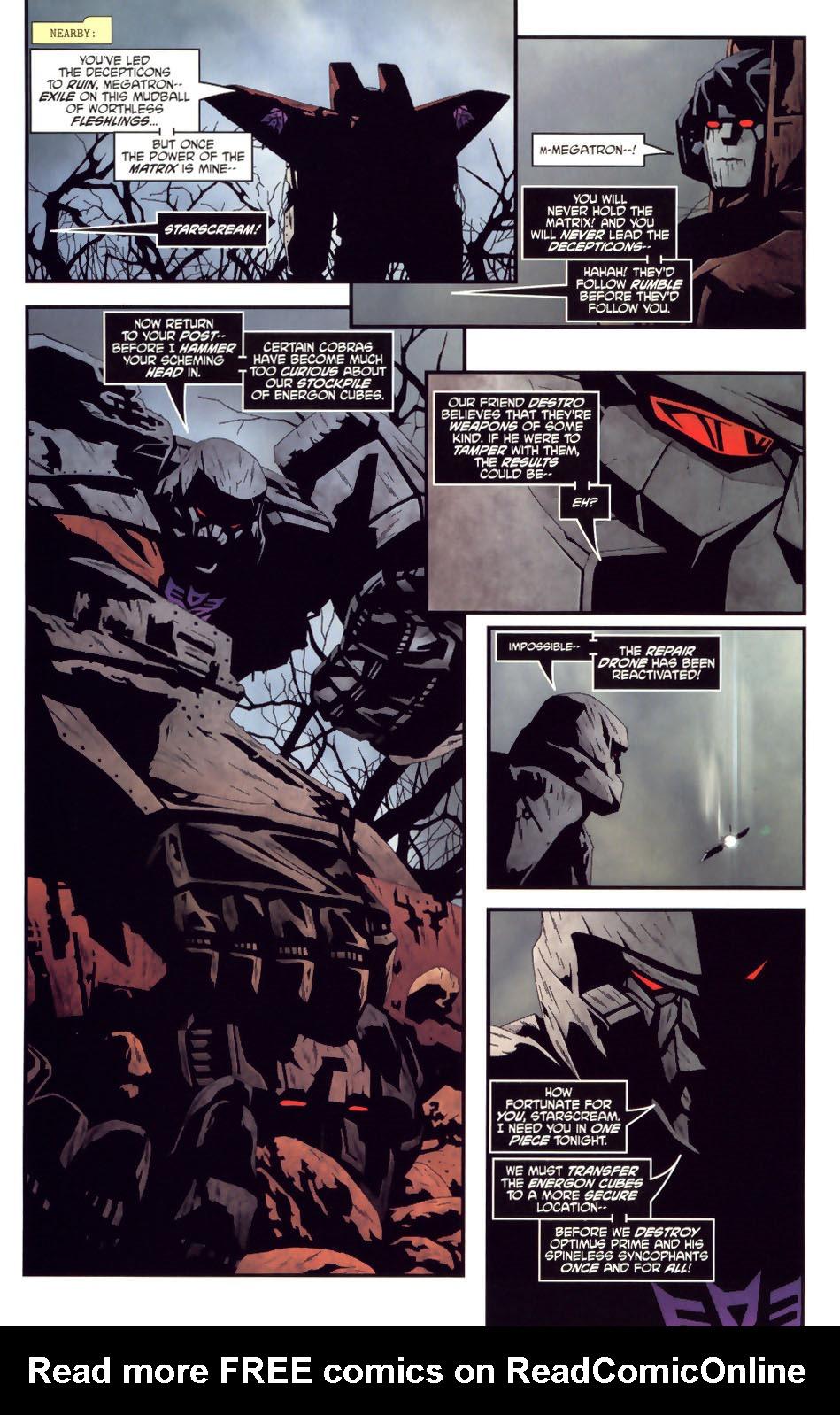 Read online Transformers/G.I. Joe comic -  Issue #2 - 17
