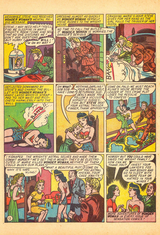 Read online Sensation (Mystery) Comics comic -  Issue #25 - 15