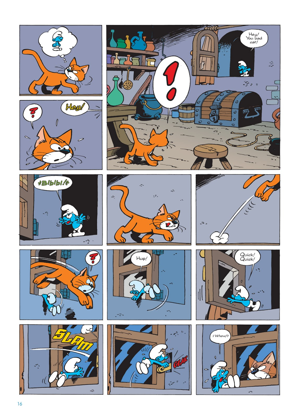 Read online The Smurfs comic -  Issue #9 - 16