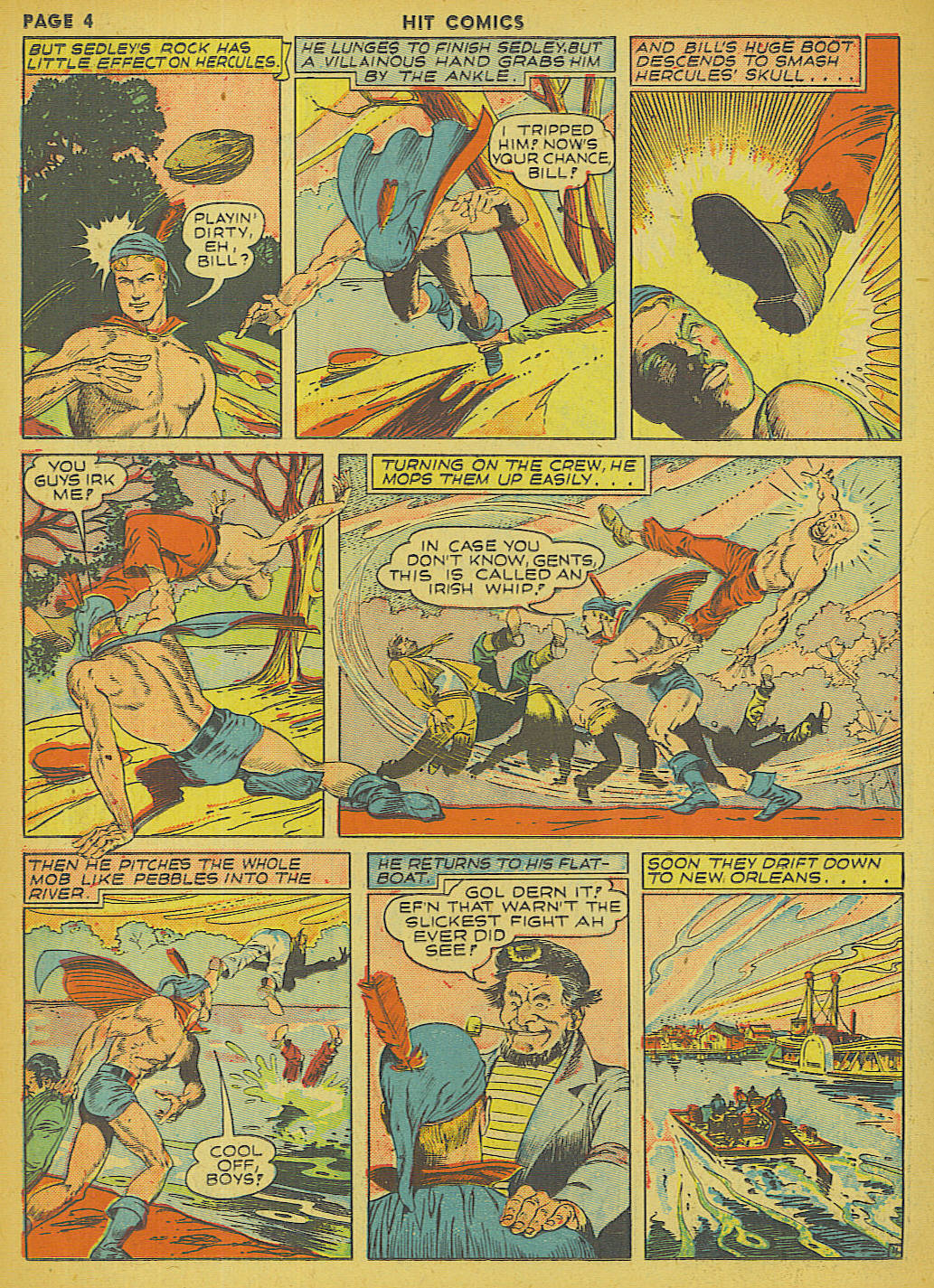 Read online Hit Comics comic -  Issue #13 - 6