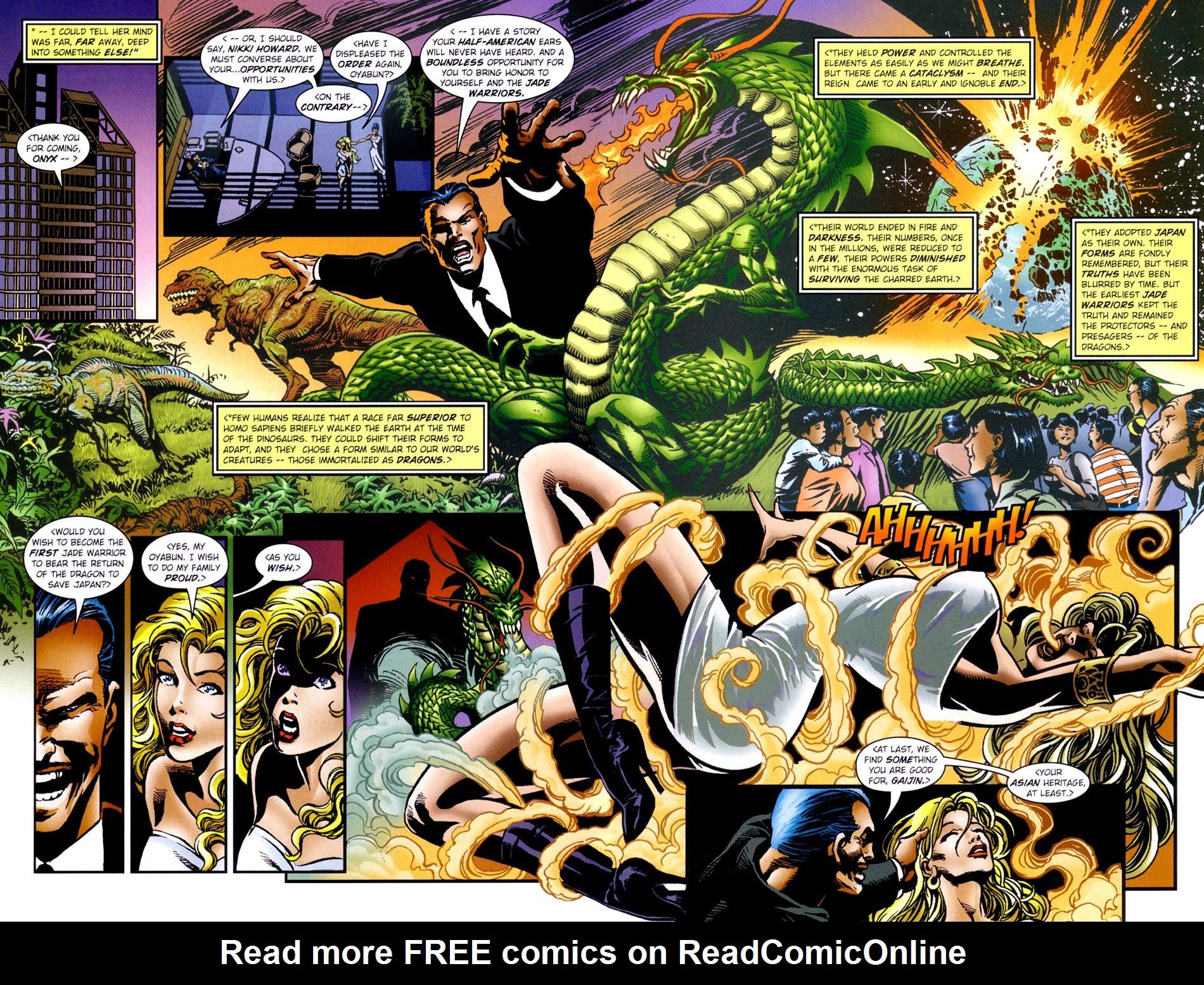Read online Jade Warriors comic -  Issue #2 - 9