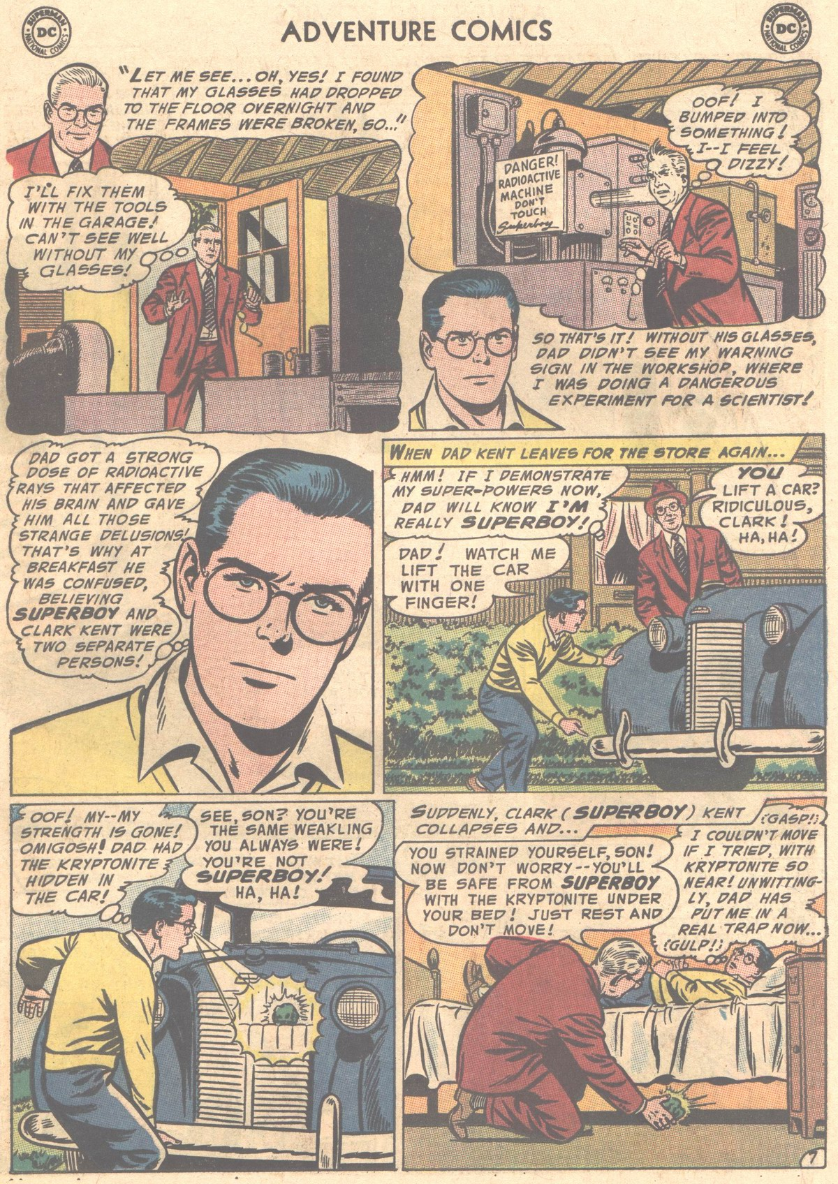 Read online Adventure Comics (1938) comic -  Issue #327 - 23
