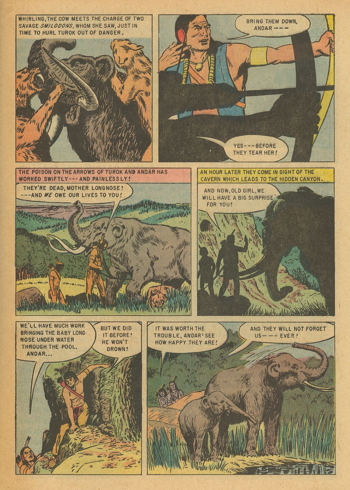 Read online Turok, Son of Stone comic -  Issue #6 - 29