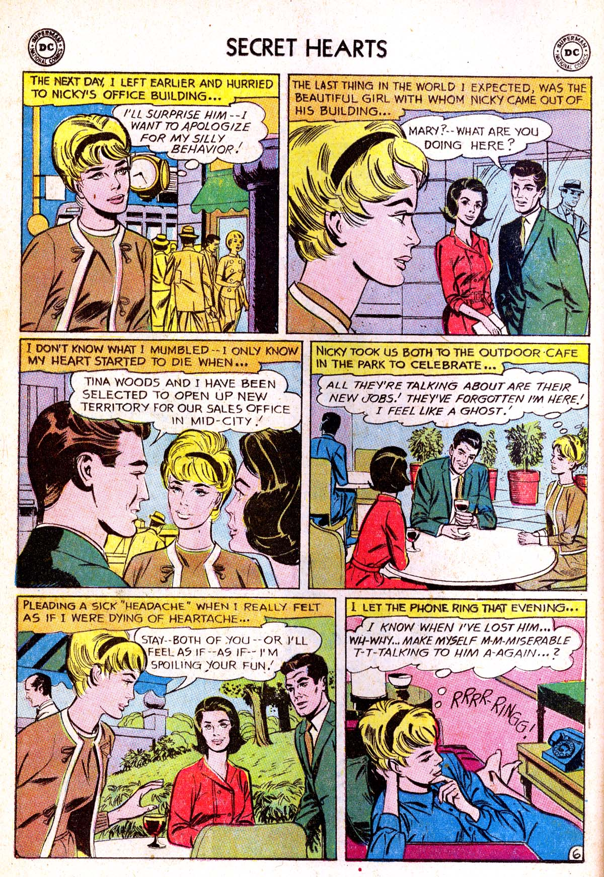 Read online Secret Hearts comic -  Issue #85 - 8