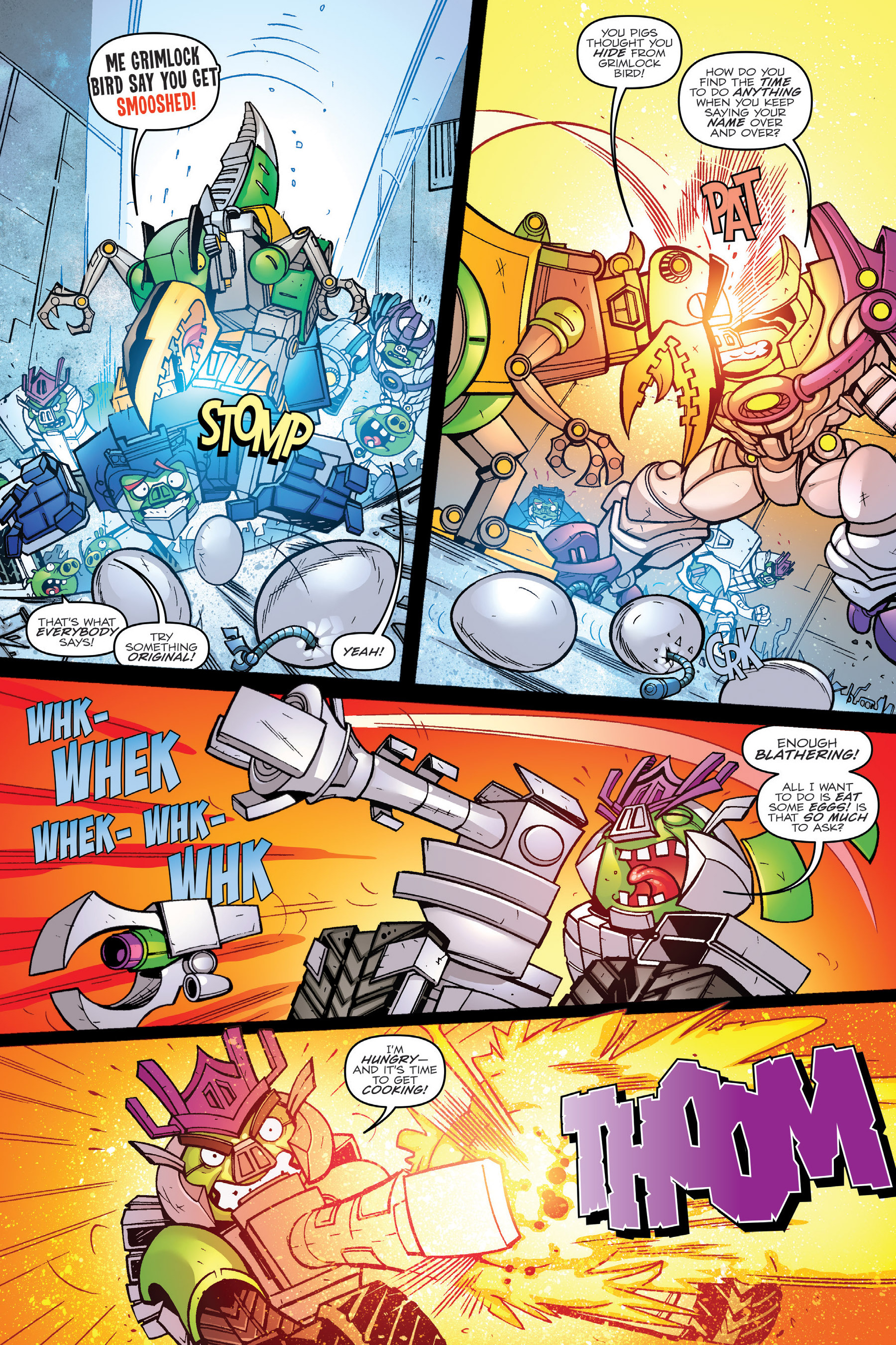 Read online Angry Birds Transformers: Age of Eggstinction comic -  Issue # Full - 39