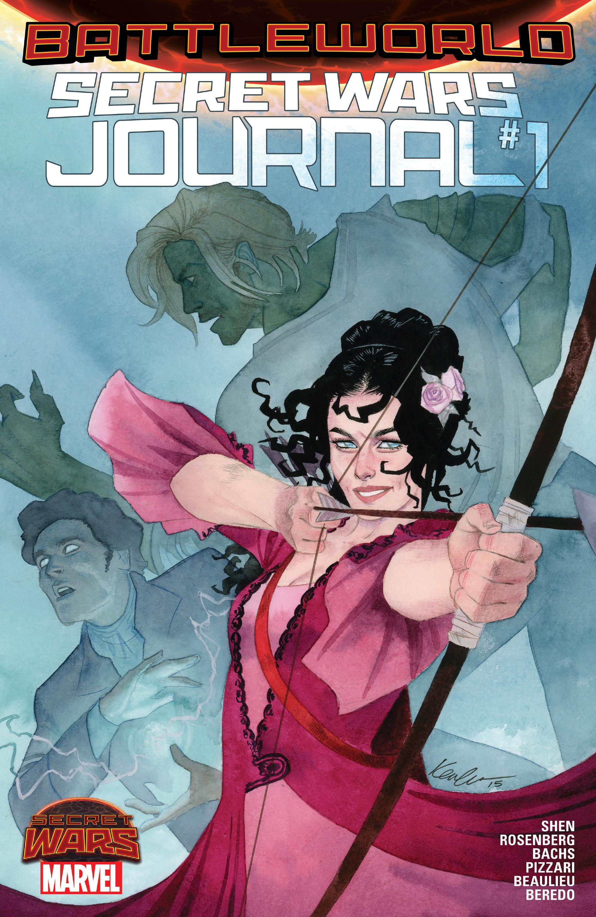 Read online Secret Wars Journal/Battleworld comic -  Issue # TPB - 4