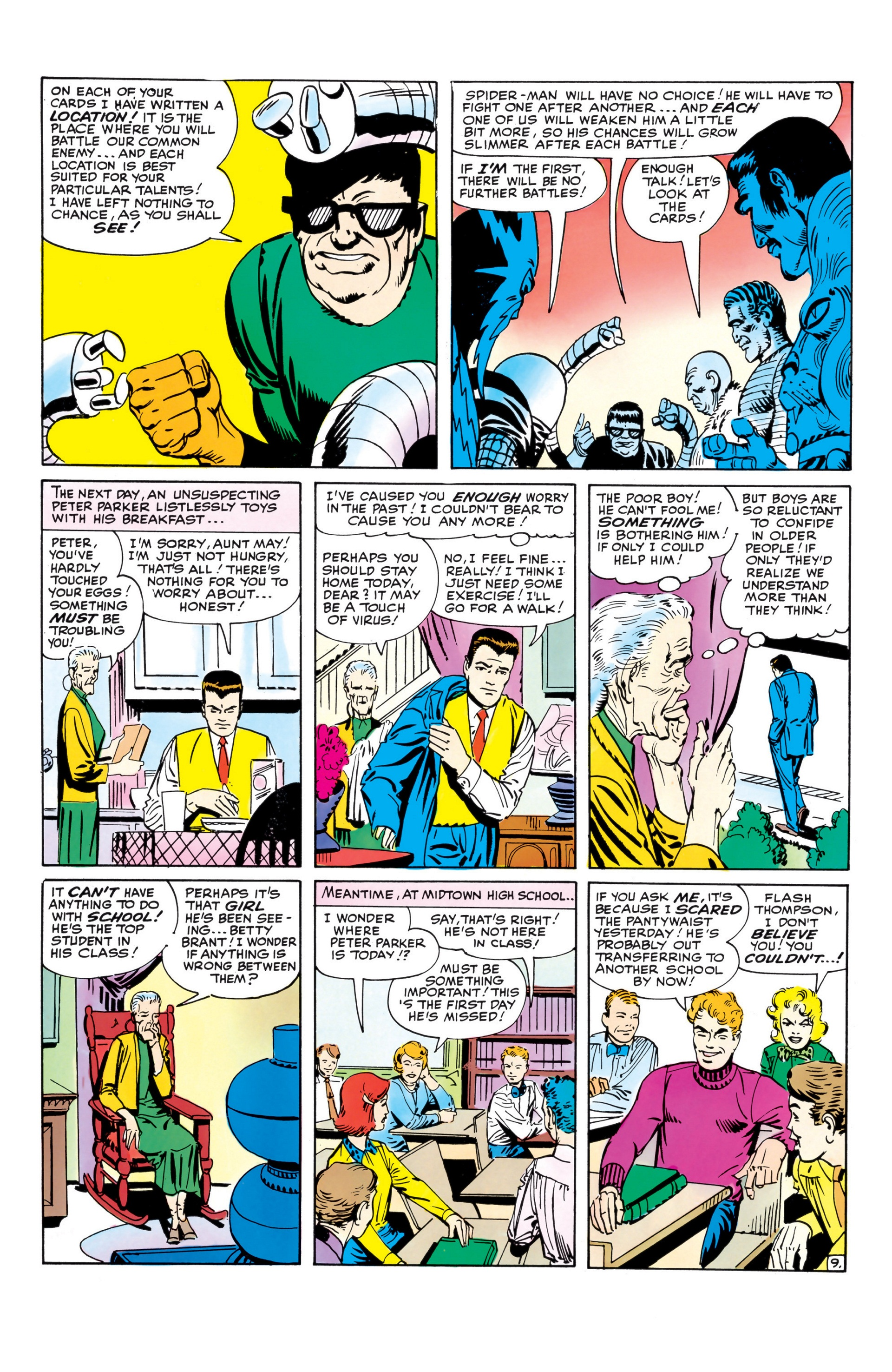 The Amazing Spider-Man (1963) _Annual_1 Page 9