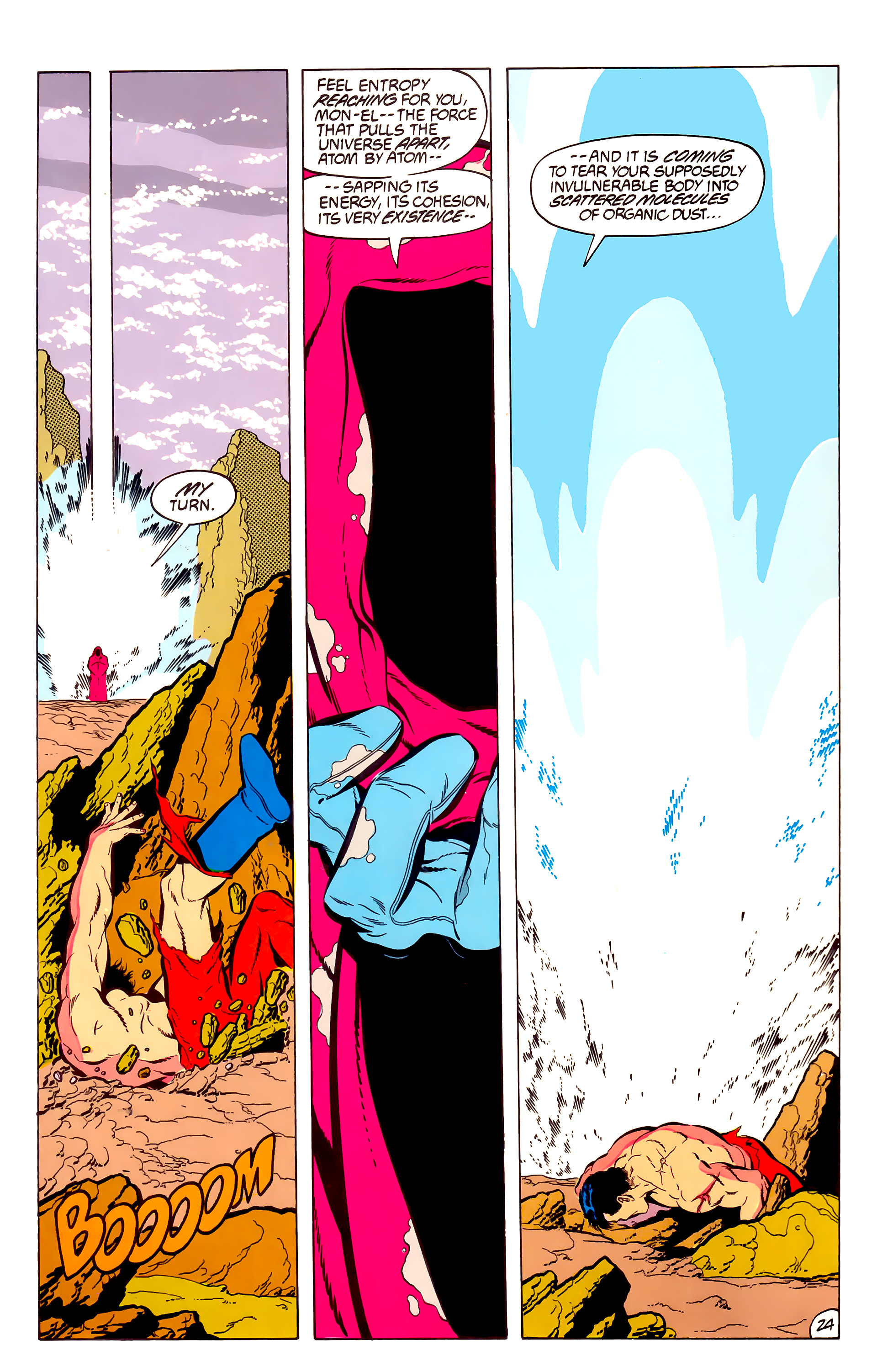 Legion of Super-Heroes (1984) 50 Page 24