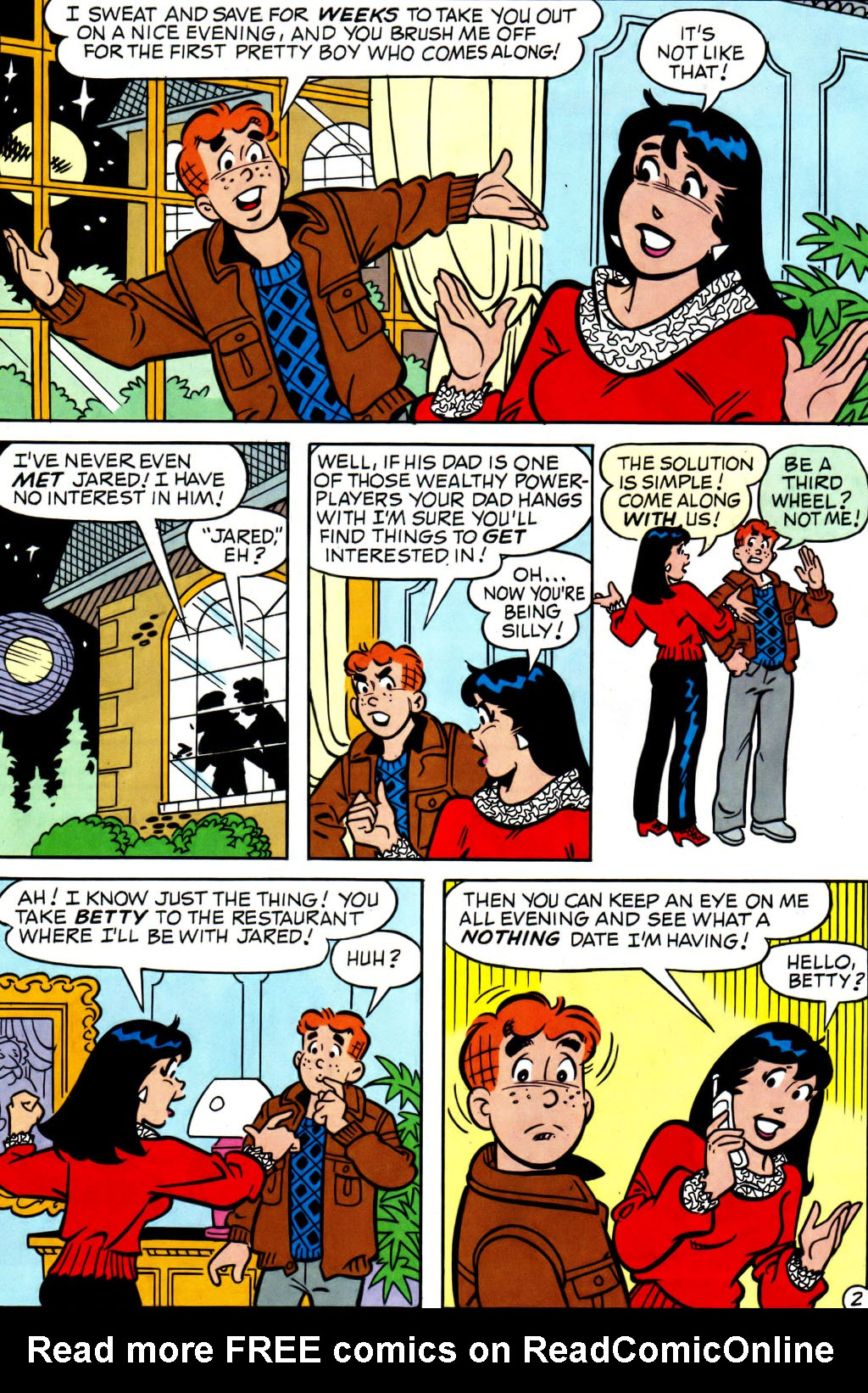 Read online Archie (1960) comic -  Issue #562 - 3