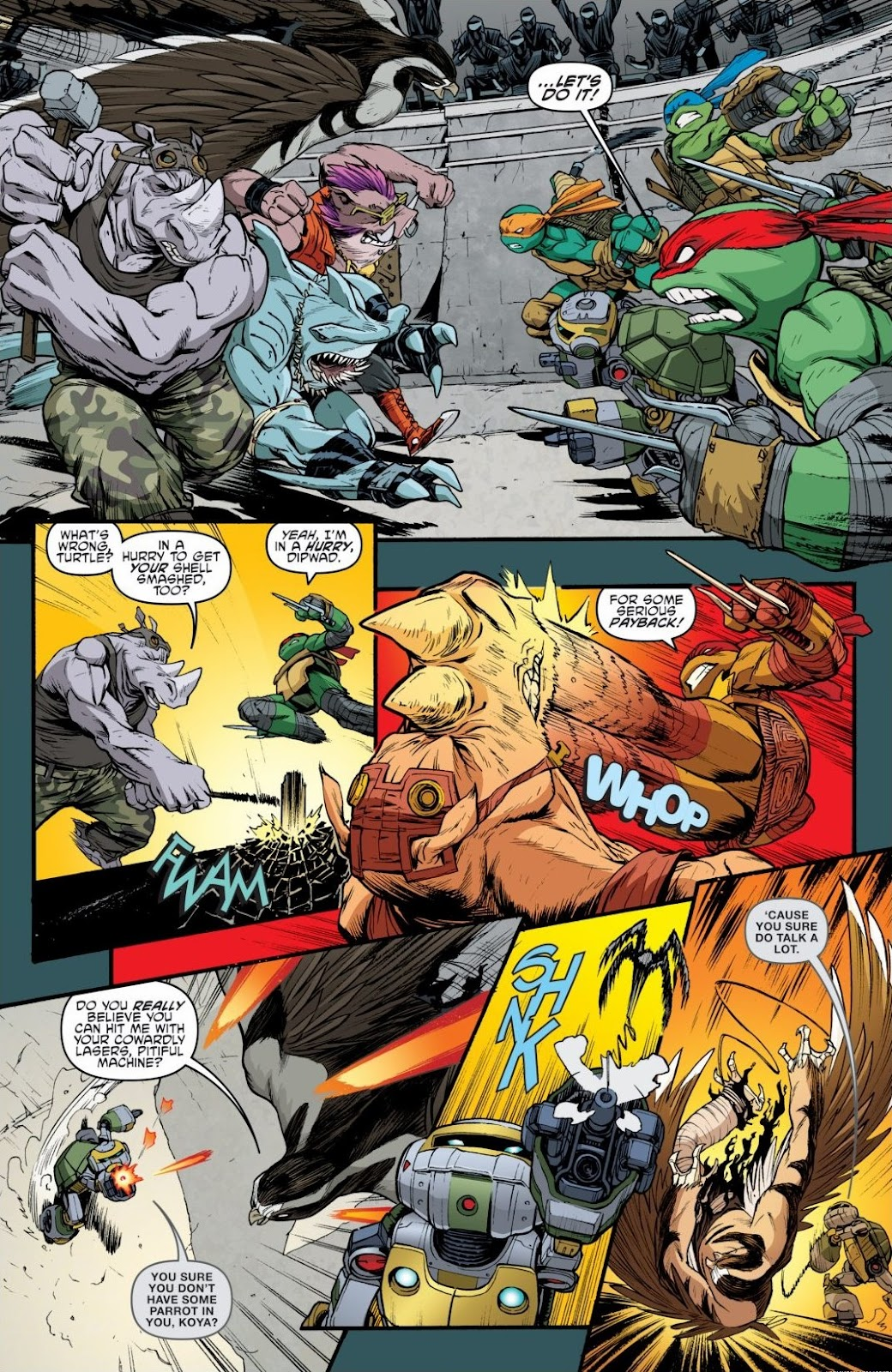 Read online Teenage Mutant Ninja Turtles: The IDW Collection comic -  Issue # TPB 6 (Part 3) - 32
