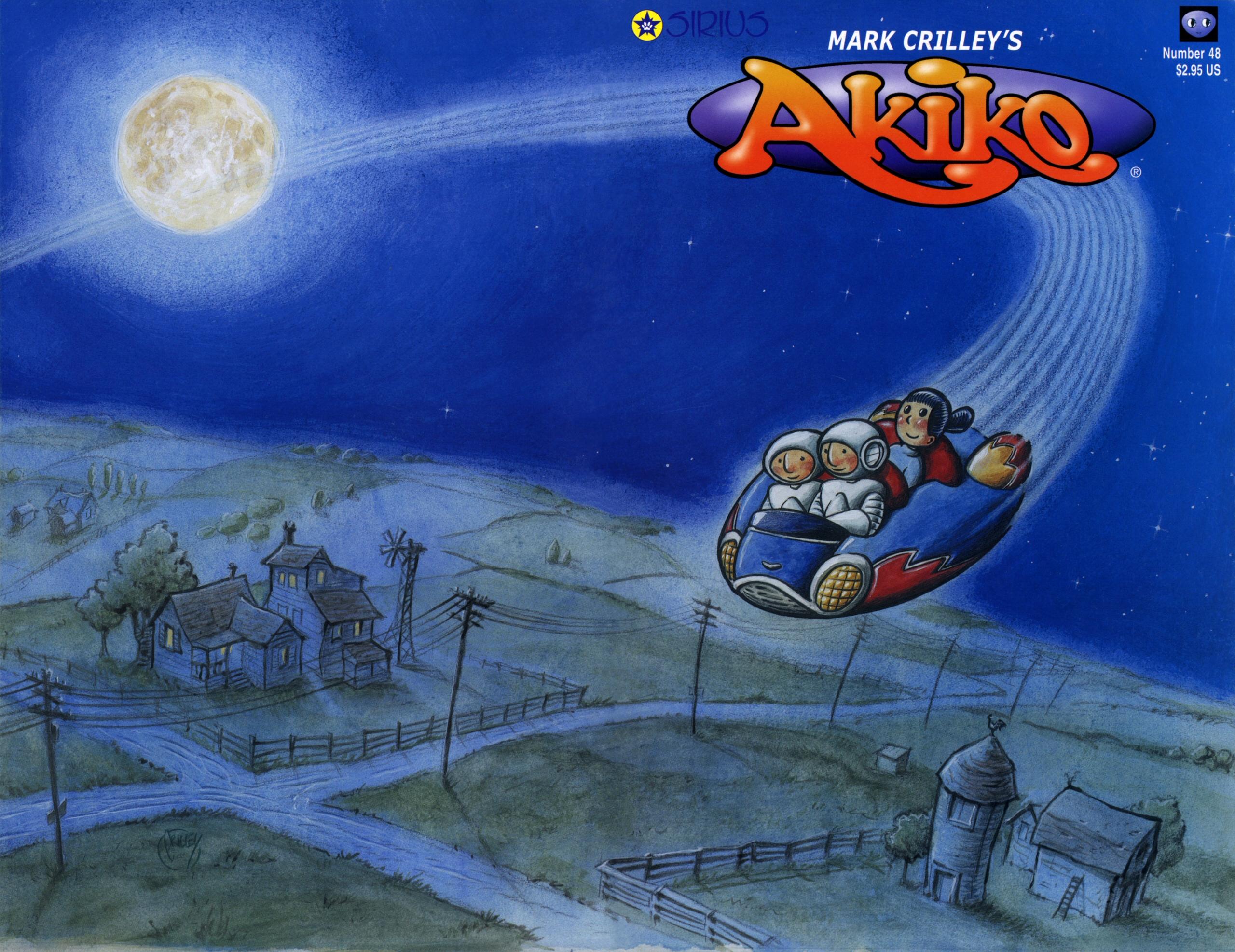 Read online Akiko comic -  Issue #48 - 1