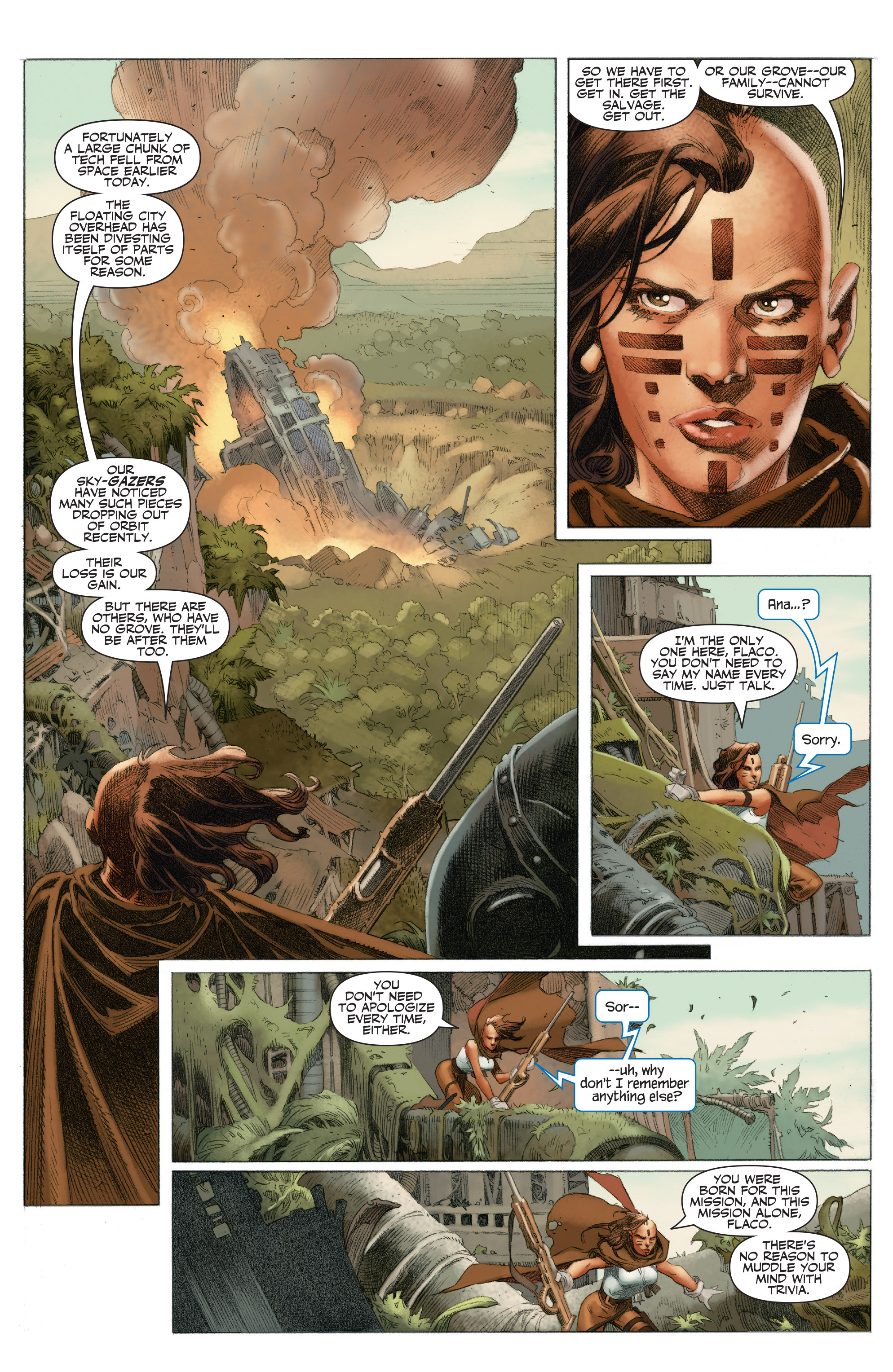 Read online 4001 A.D.: War Mother comic -  Issue #4001 A.D.: War Mother Full - 9