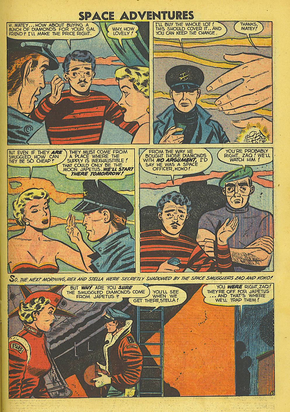 Space Adventures (1952) issue 5 - Page 14