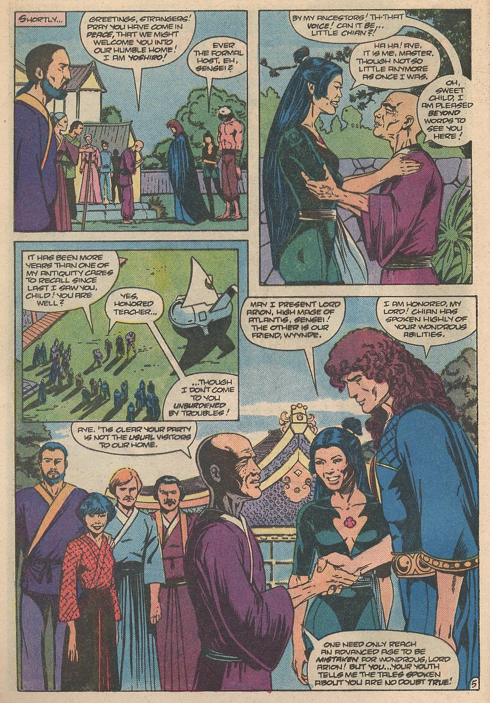 Read online Arion, Lord of Atlantis comic -  Issue #31 - 6