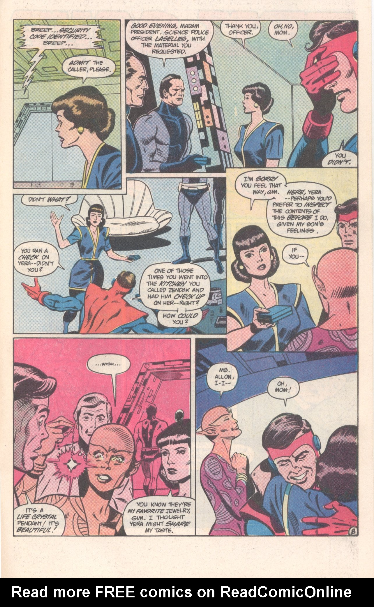 Legion of Super-Heroes (1980) 308 Page 22