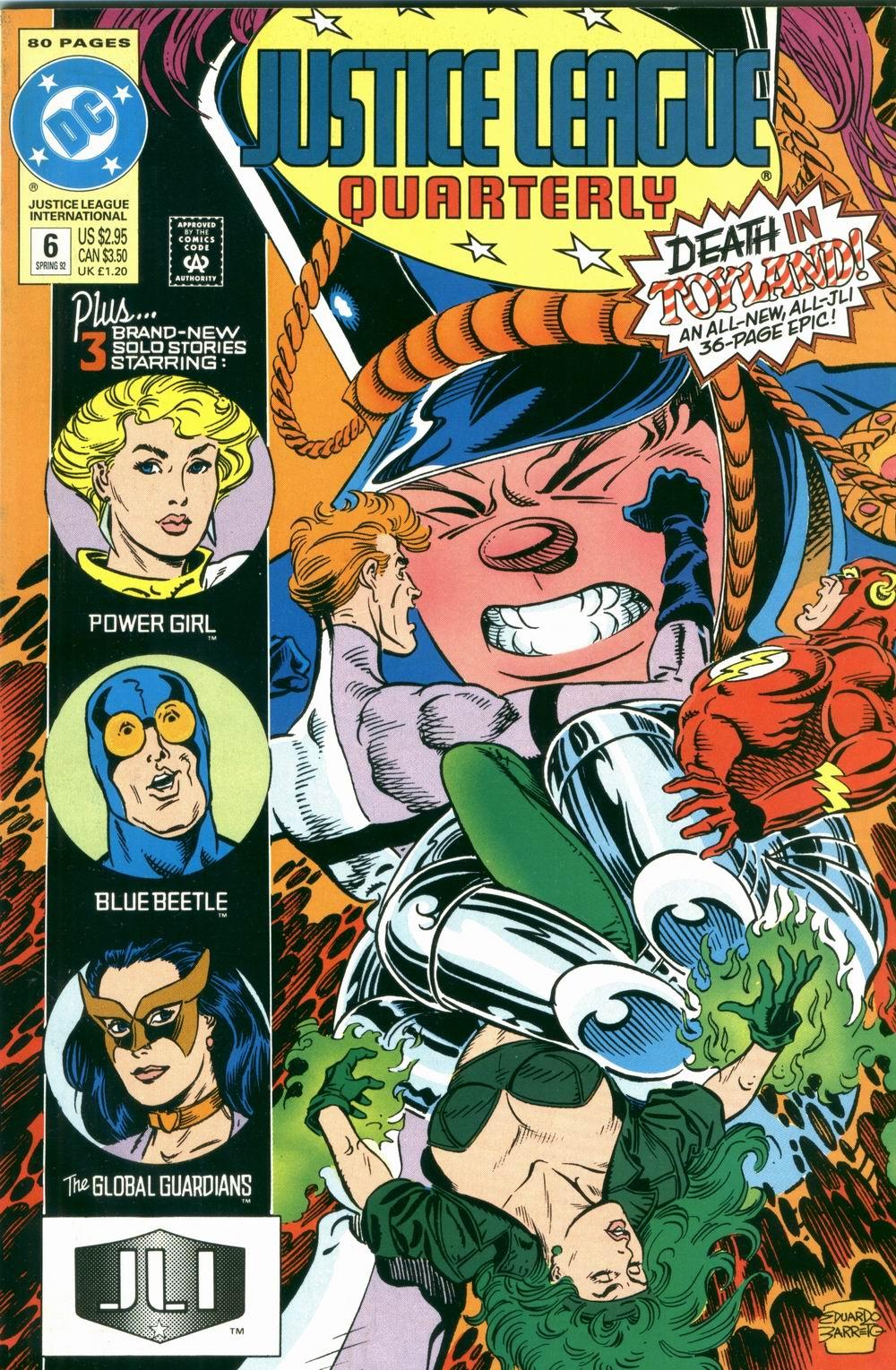 Justice League Quarterly 6 Page 1