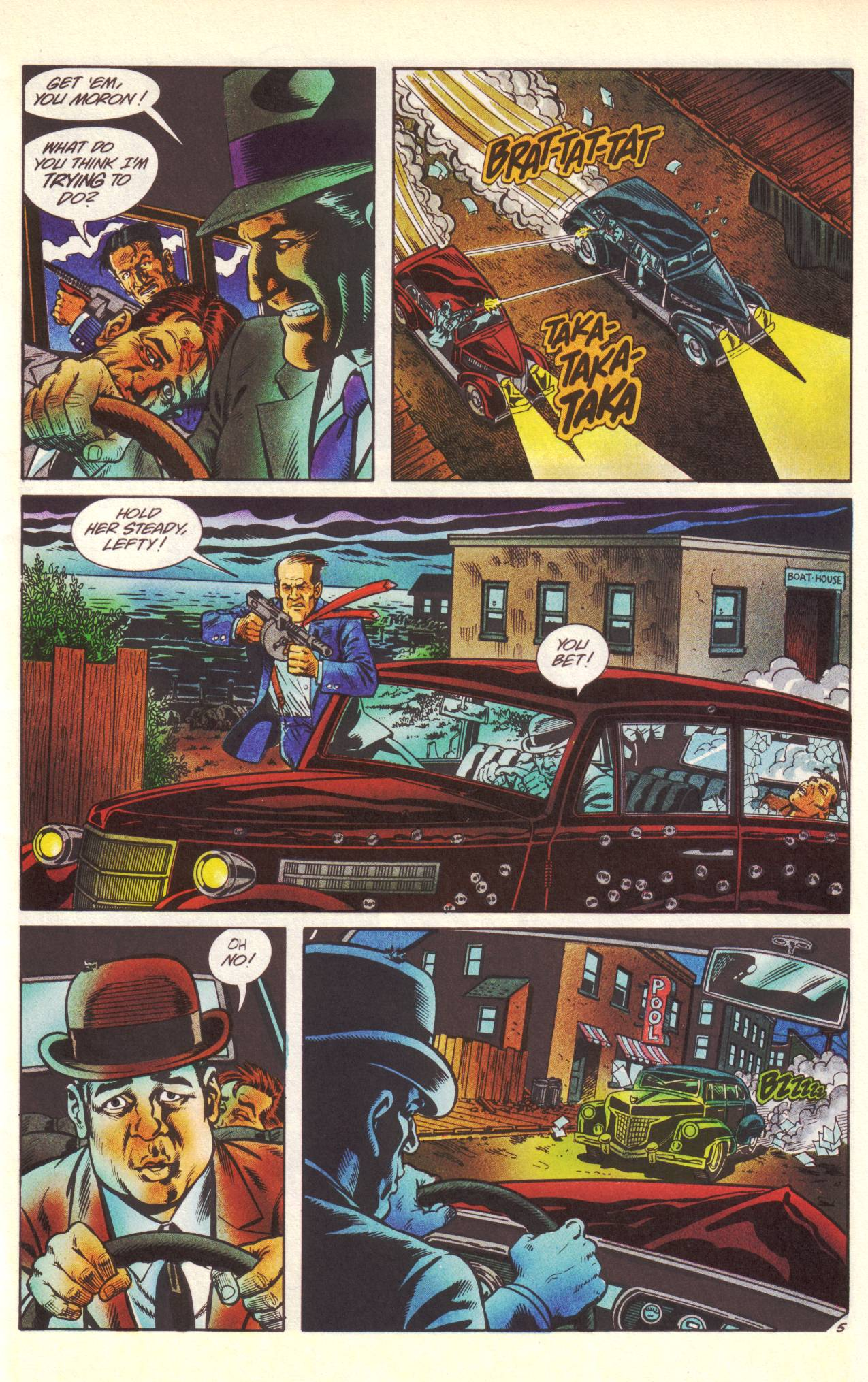 Read online Sting of The Green Hornet comic -  Issue #1 - 6