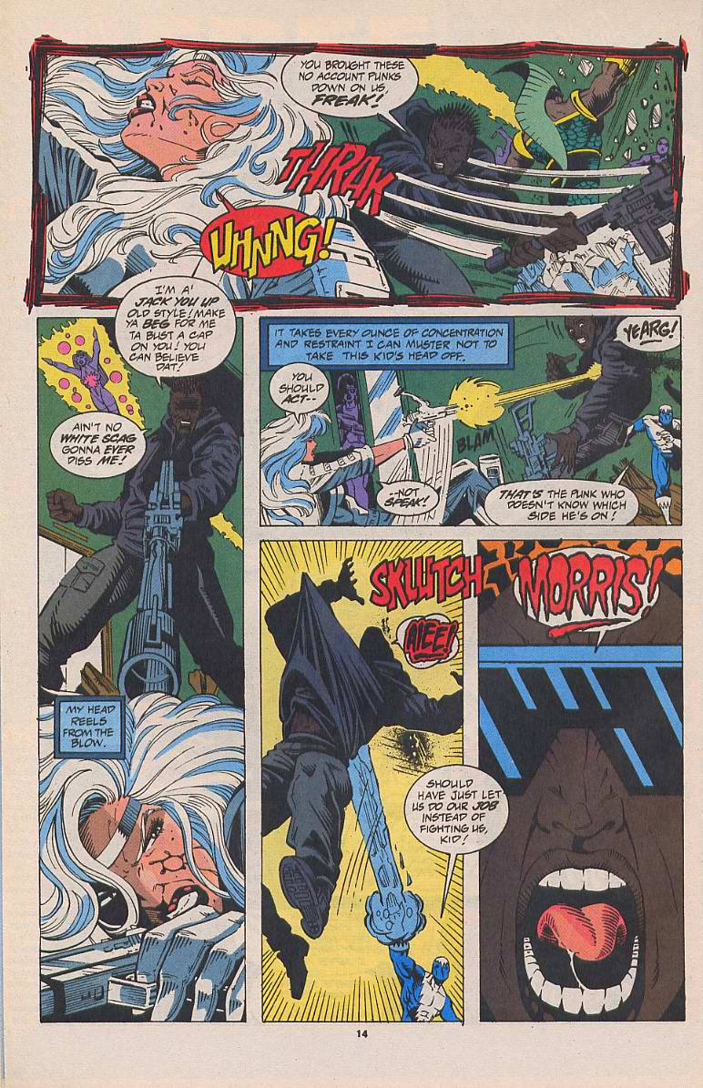 Read online Silver Sable and the Wild Pack comic -  Issue #22 - 11