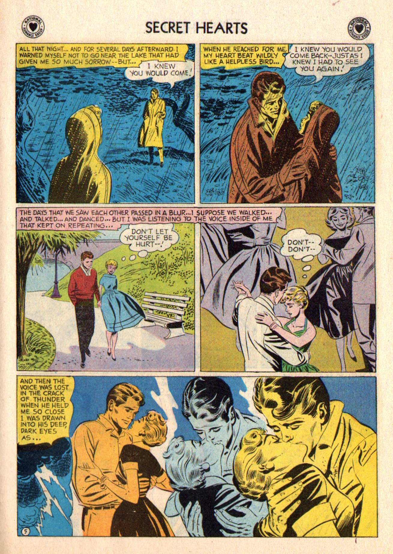 Read online Secret Hearts comic -  Issue #48 - 31