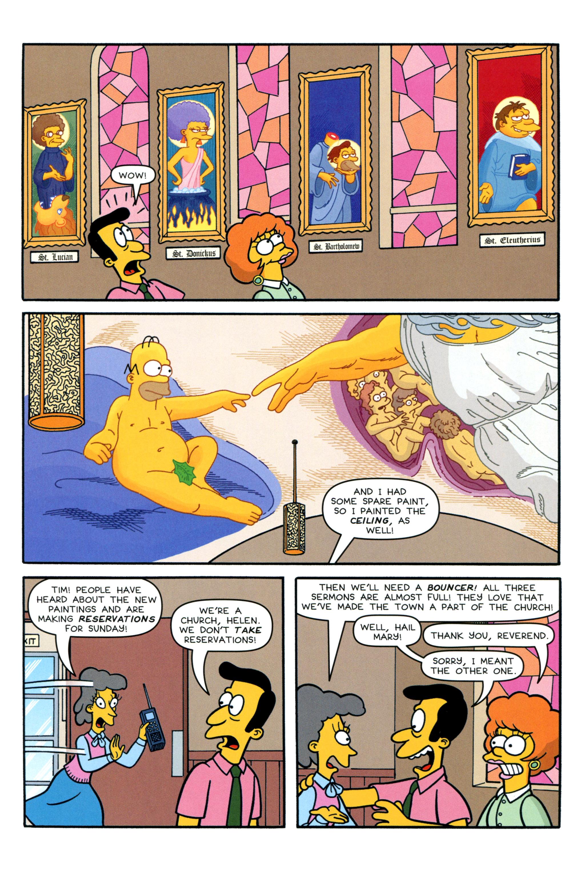 Read online Simpsons Comics comic -  Issue #213 - 17
