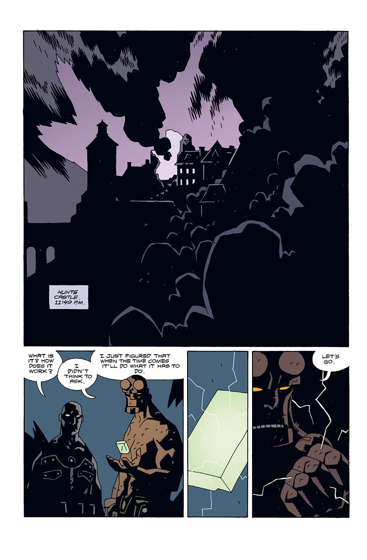 Read online Hellboy: Conqueror Worm comic -  Issue #3 - 3