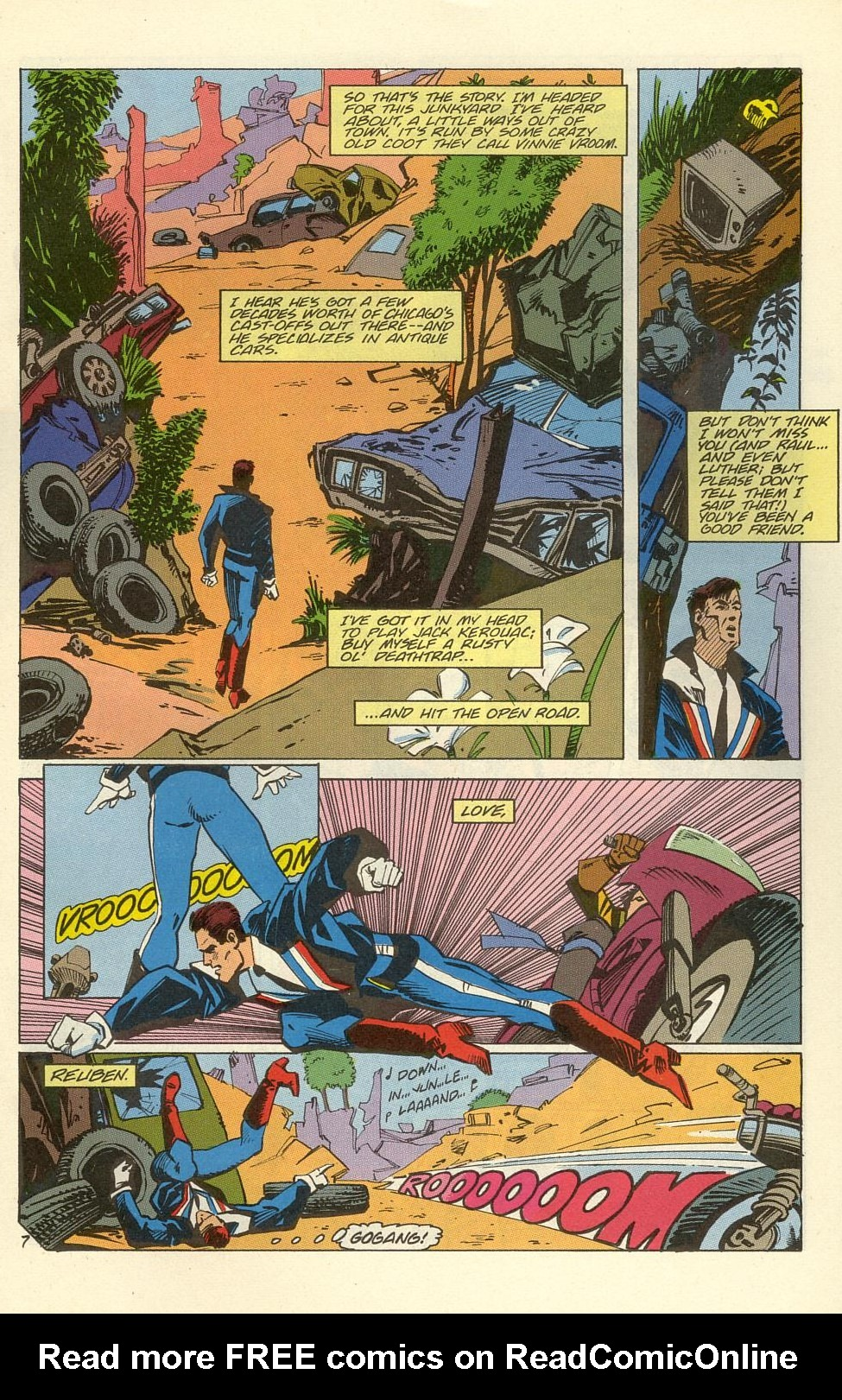 Read online American Flagg! comic -  Issue #39 - 9