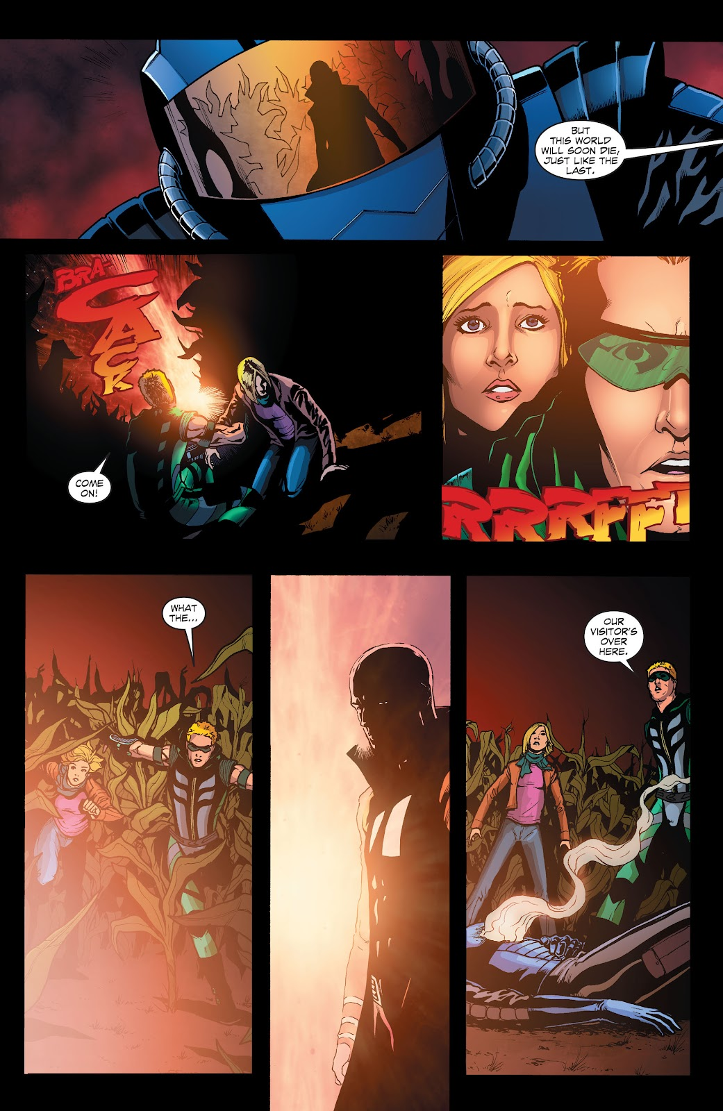 Read online Smallville Season 11 [II] comic -  Issue # TPB 1 - 121