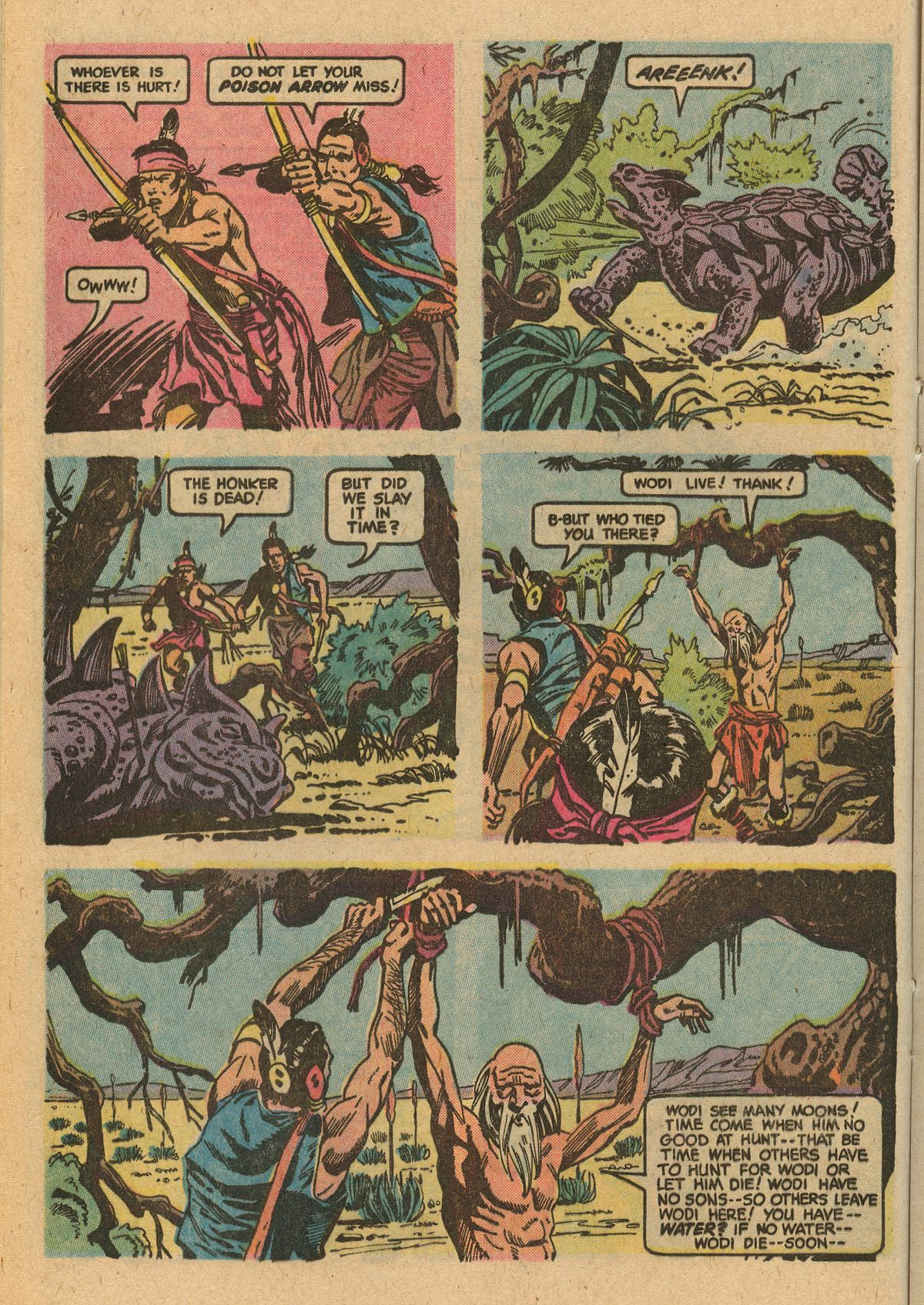 Read online Turok, Son of Stone comic -  Issue #115 - 24