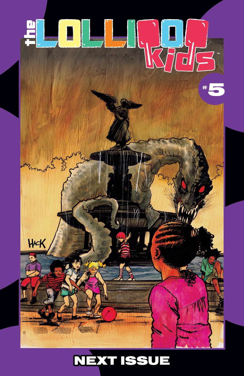 Read online Lollipop Kids comic -  Issue #4 - 22