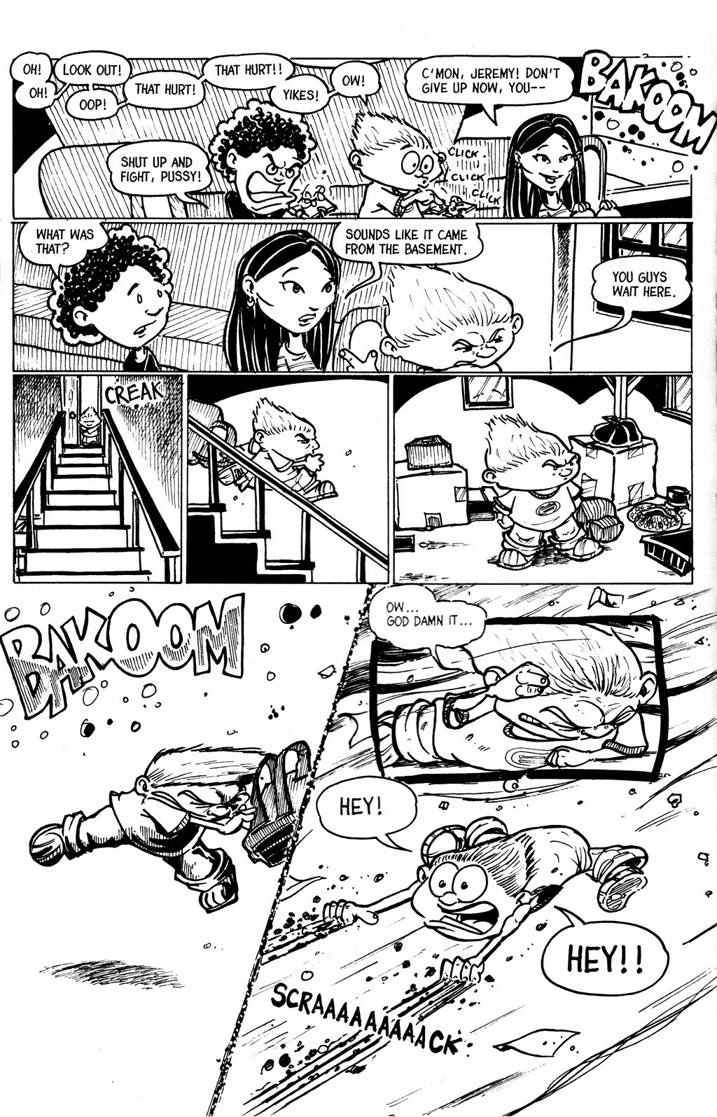 Read online The Adventures of Barry Ween, Boy Genius 3: Monkey Tales comic -  Issue #4 - 22