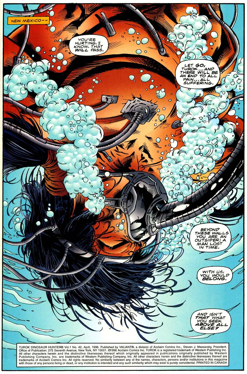 Read online Turok, Dinosaur Hunter (1993) comic -  Issue #42 - 2