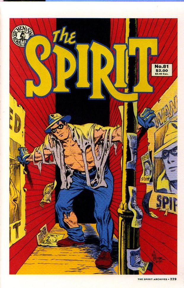 Read online Will Eisner's The Spirit Archives comic -  Issue # TPB 26 (Part 3) - 36