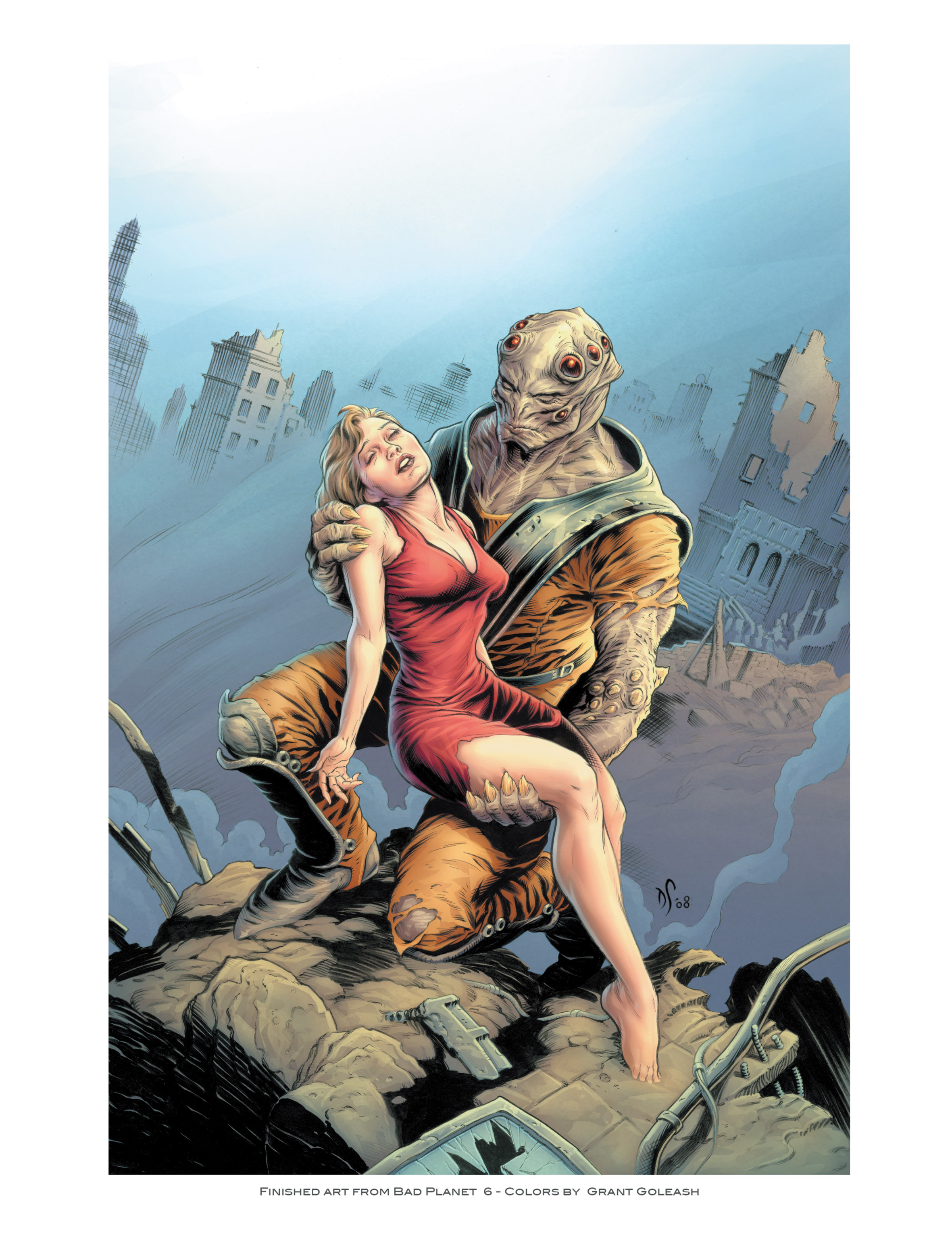Read online Bad Planet comic -  Issue # TPB - 155