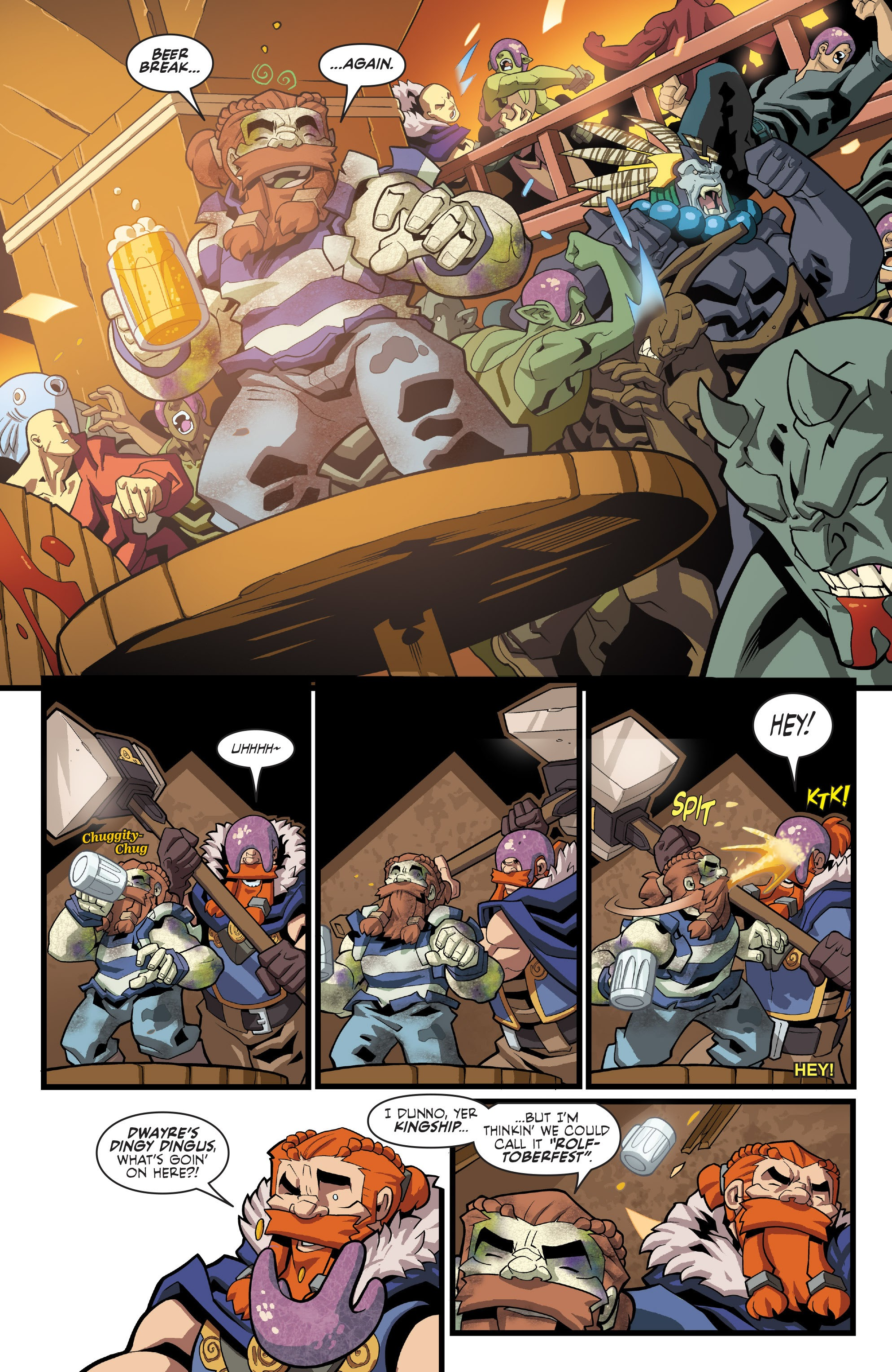 Read online Skullkickers comic -  Issue #33 - 16