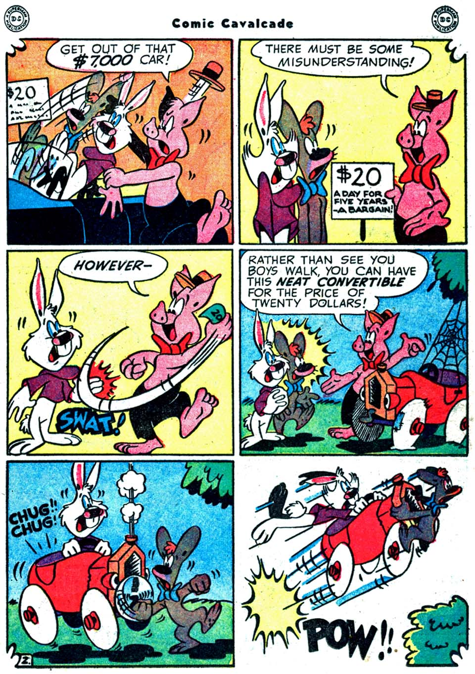 Comic Cavalcade issue 32 - Page 31