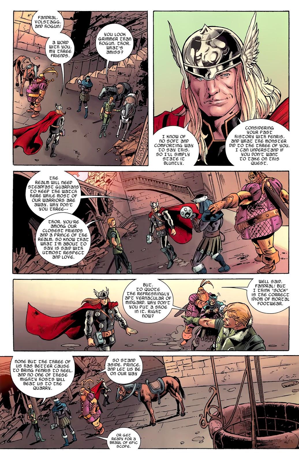 Warriors Three Issue #1 #1 - English 18