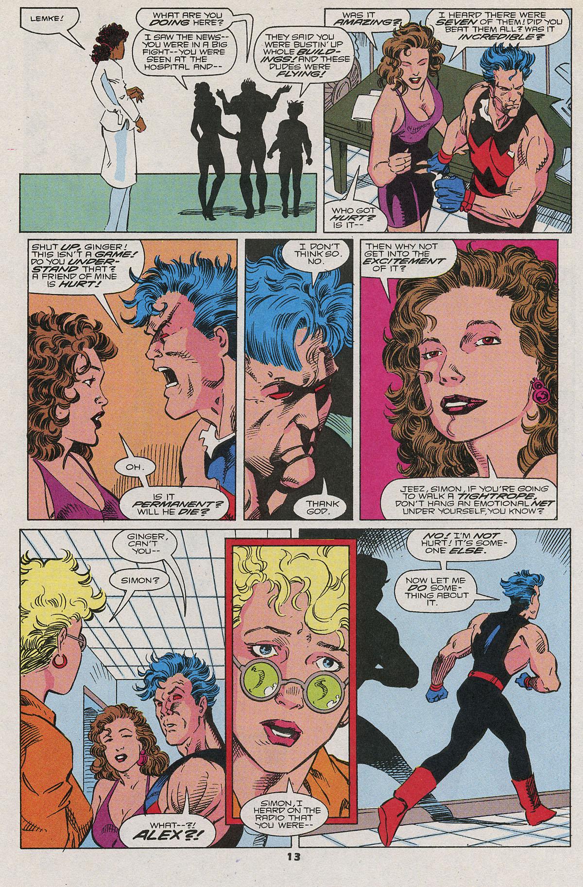 Read online Wonder Man (1991) comic -  Issue #6 - 10