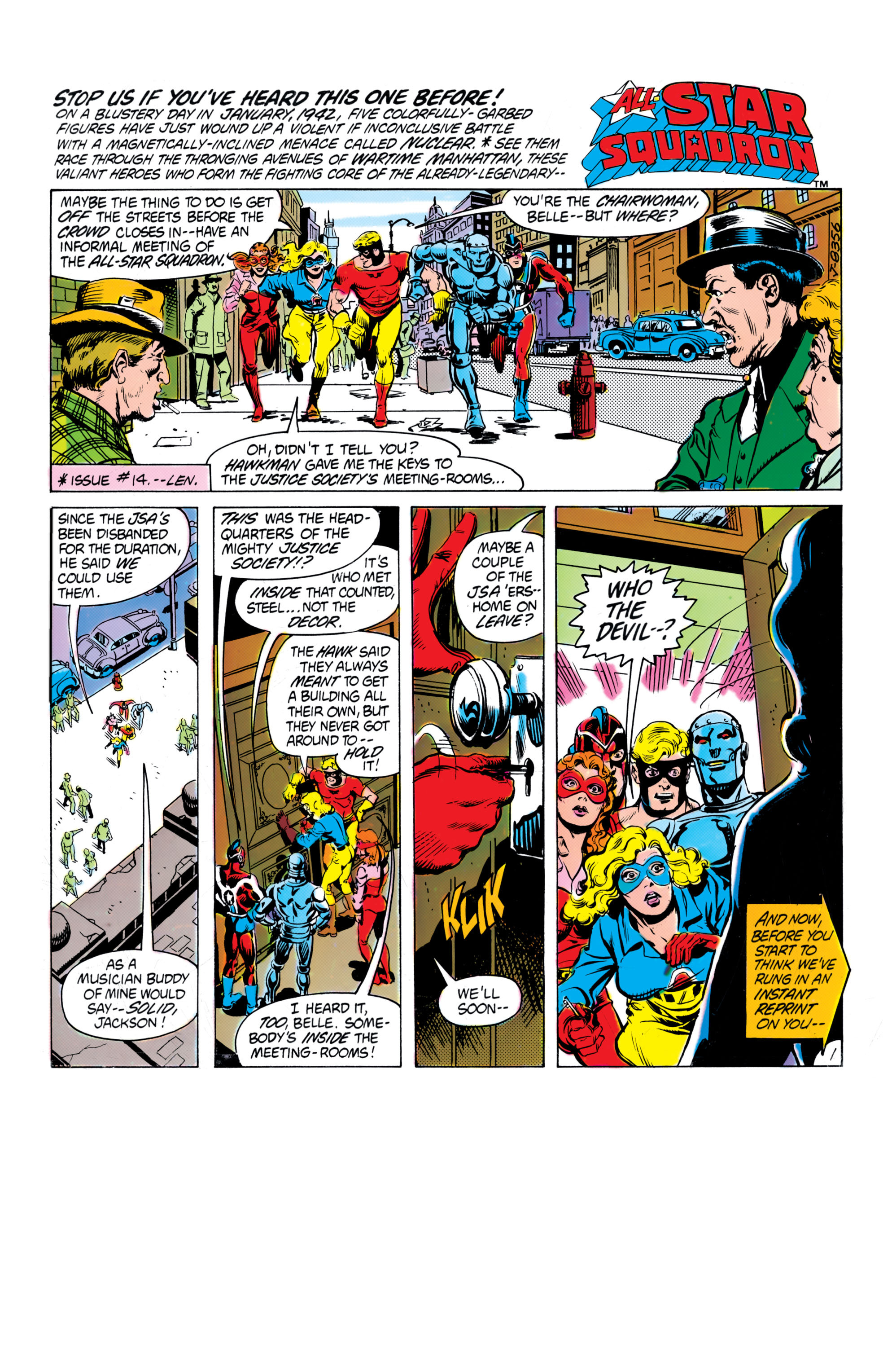 Read online All-Star Squadron comic -  Issue #16 - 2