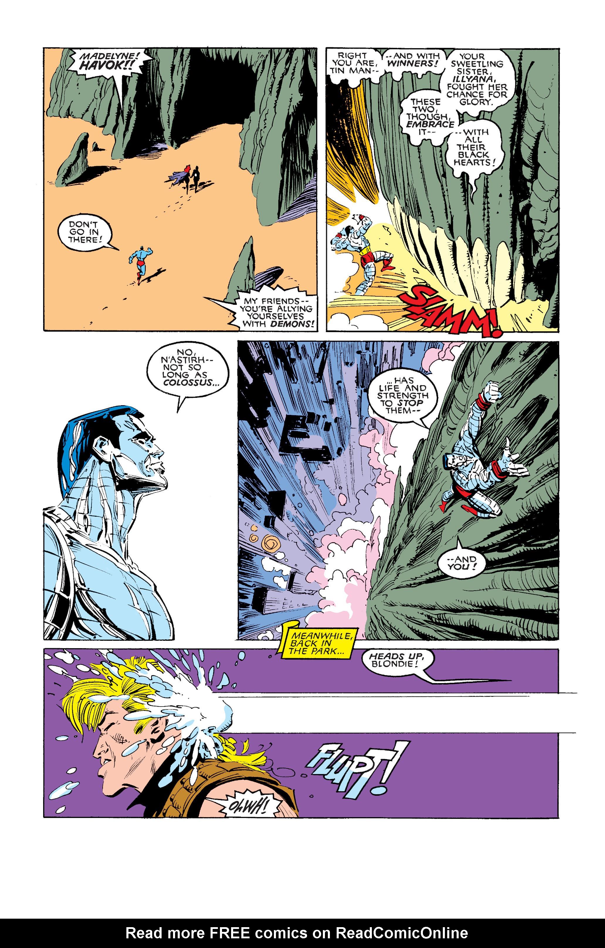 Read online Uncanny X-Men (1963) comic -  Issue #242 - 15