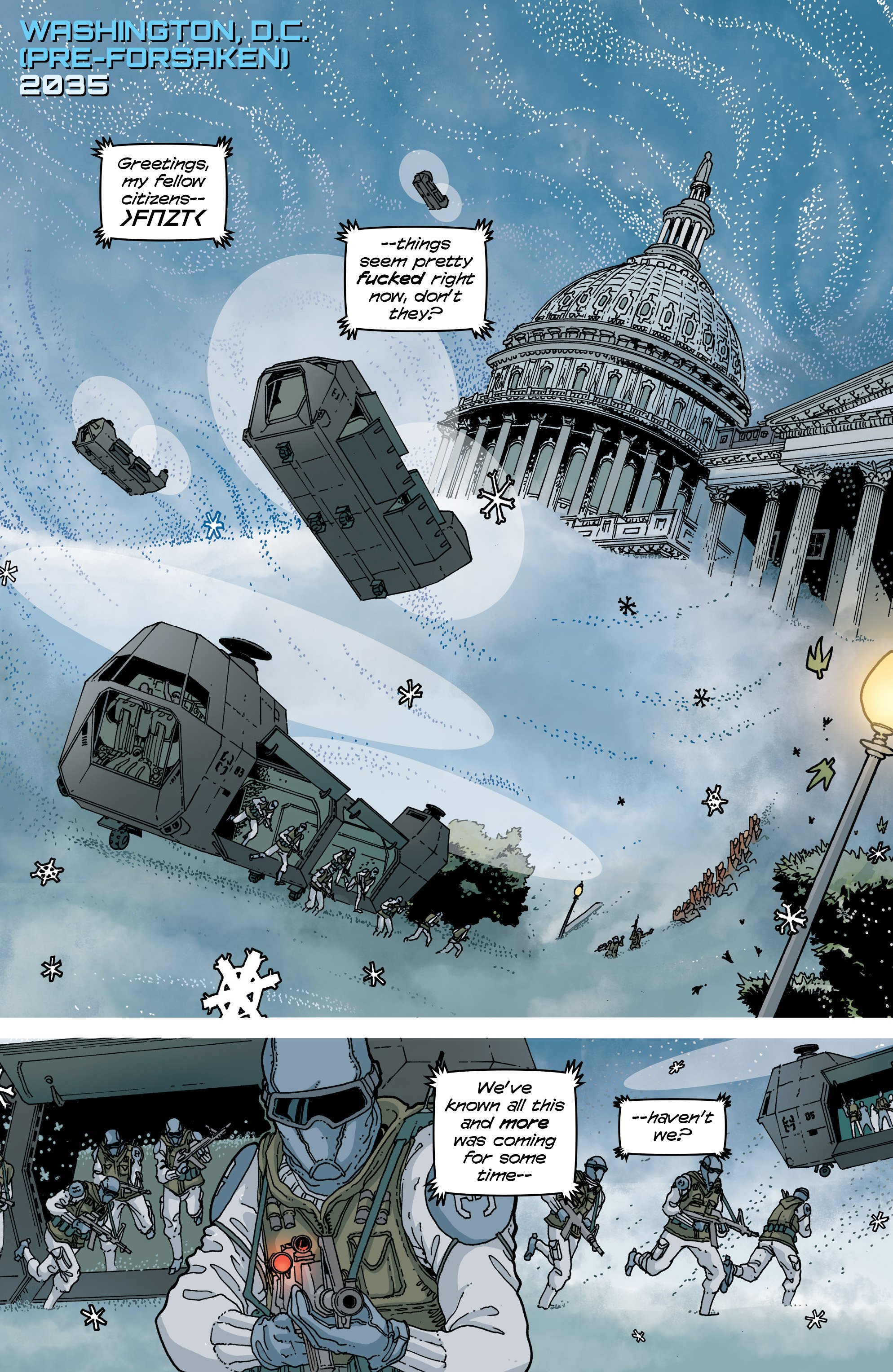 Read online Snowfall comic -  Issue #5 - 4