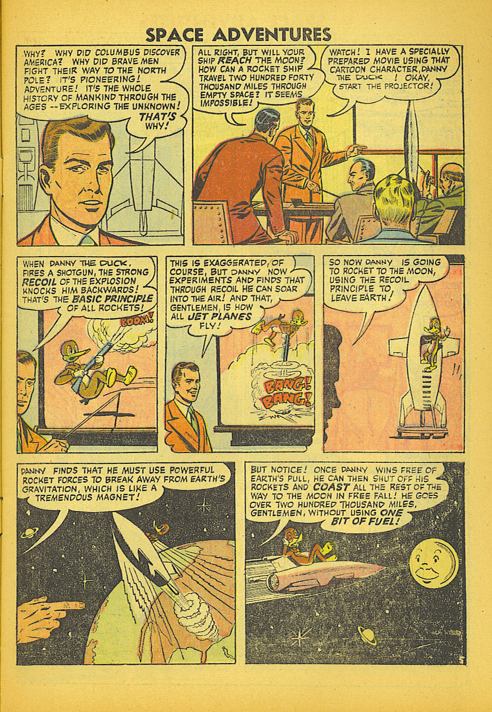 Space Adventures (1952) issue 20 - Page 7