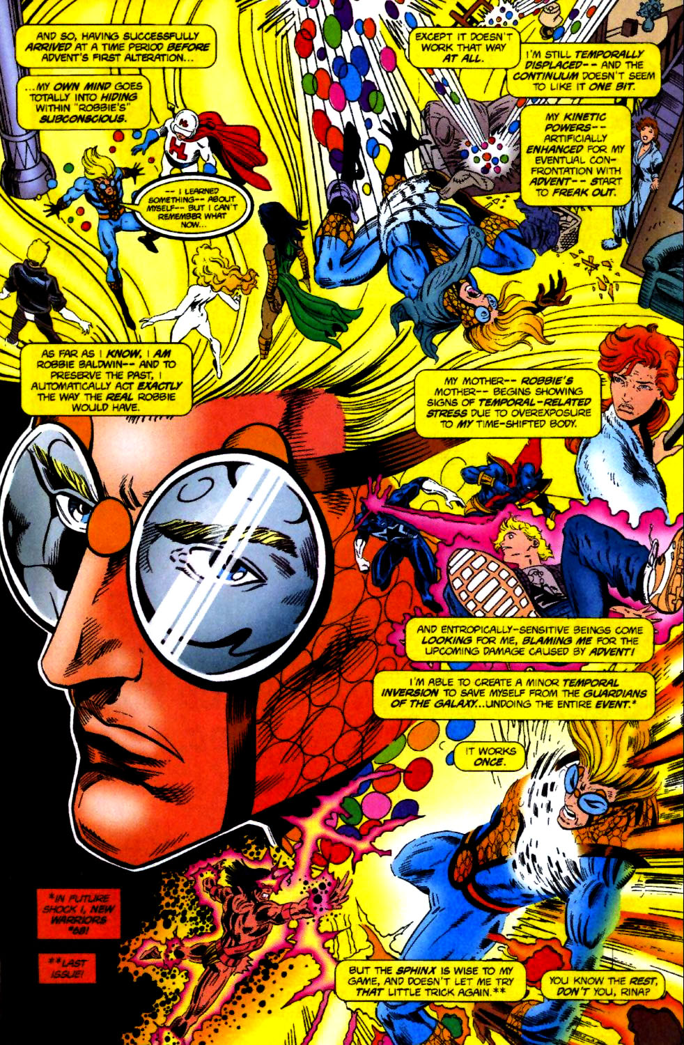 The New Warriors Issue #70 #74 - English 17