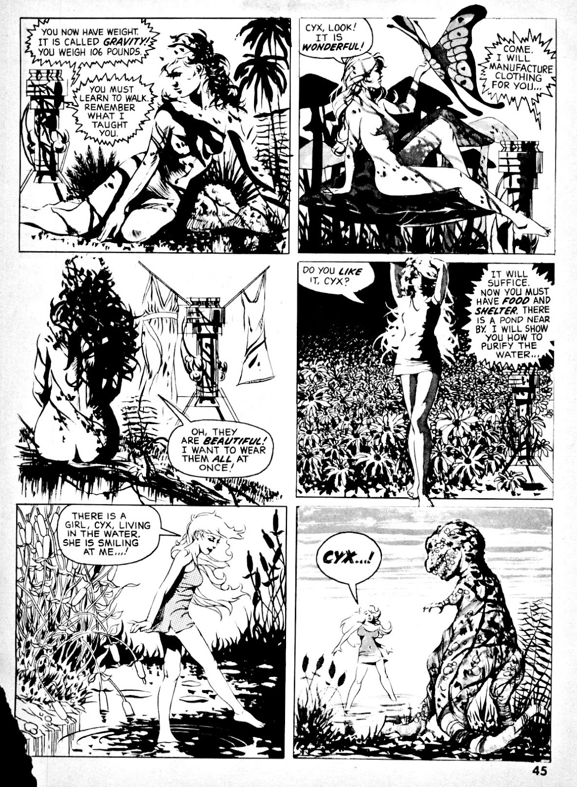 Nightmare (1970) issue 14 - Page 43
