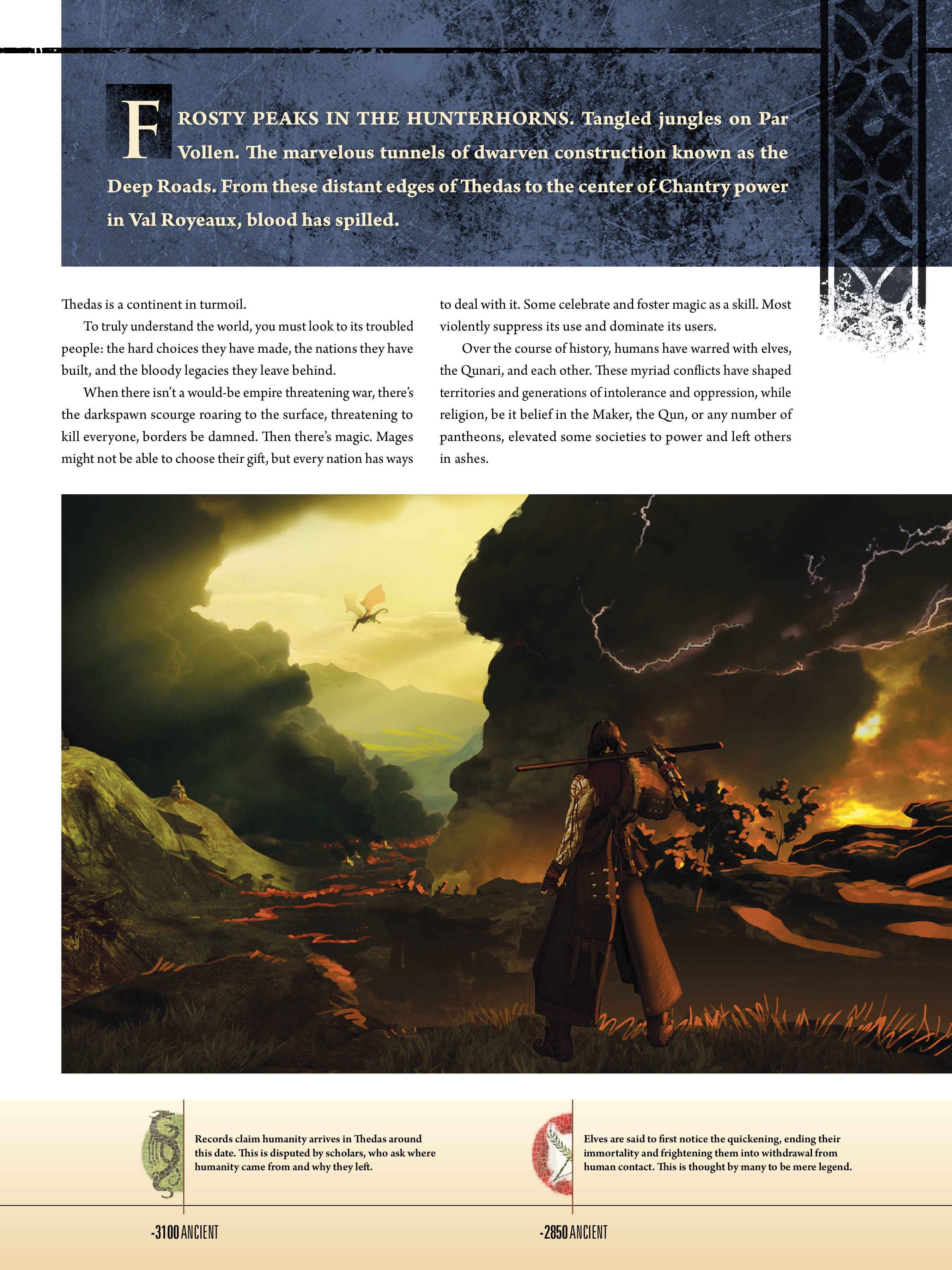 Read online Dragon Age: The World of Thedas comic -  Issue # TPB 1 - 9
