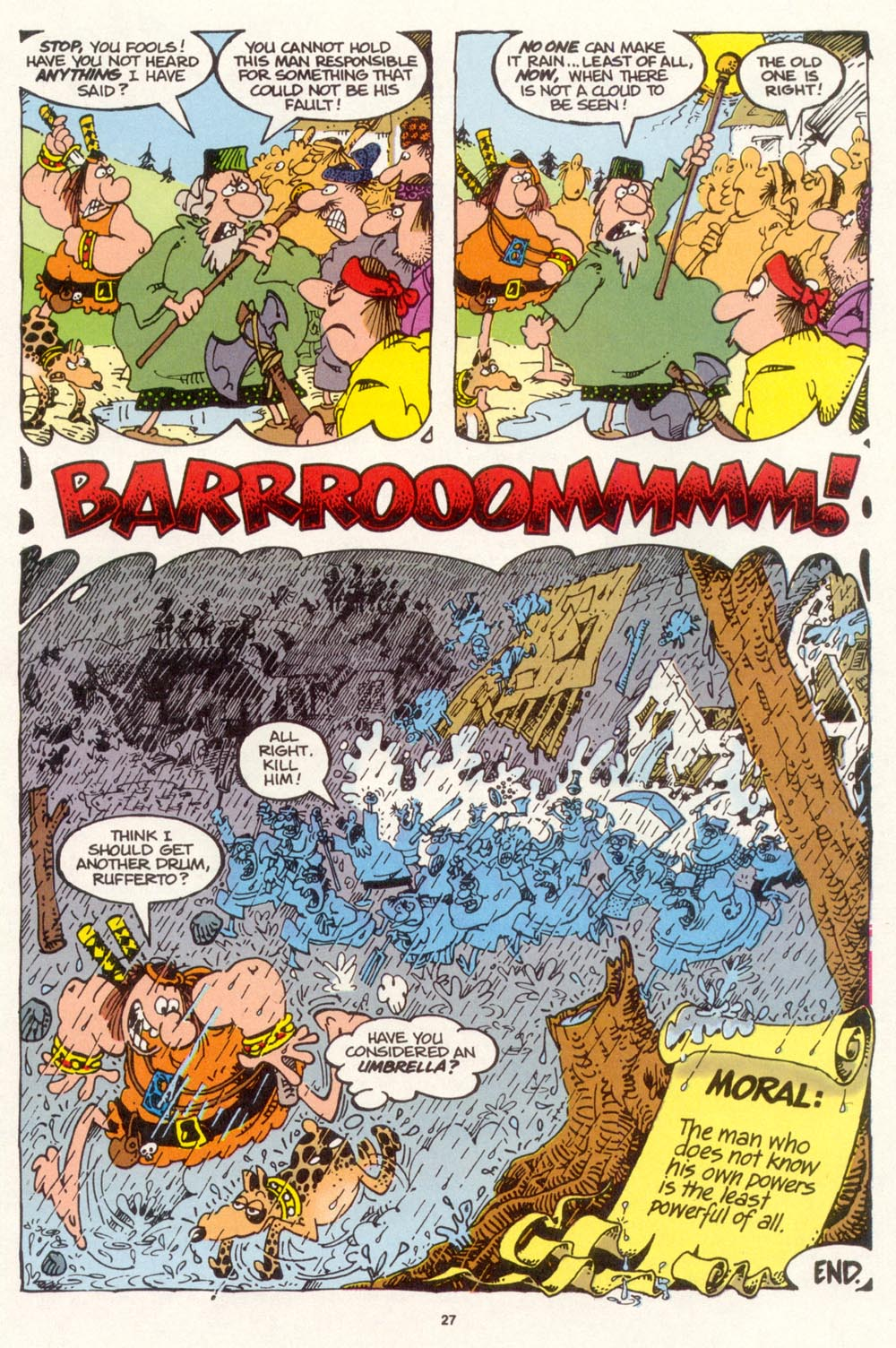 Read online Sergio Aragonés Groo the Wanderer comic -  Issue #113 - 29