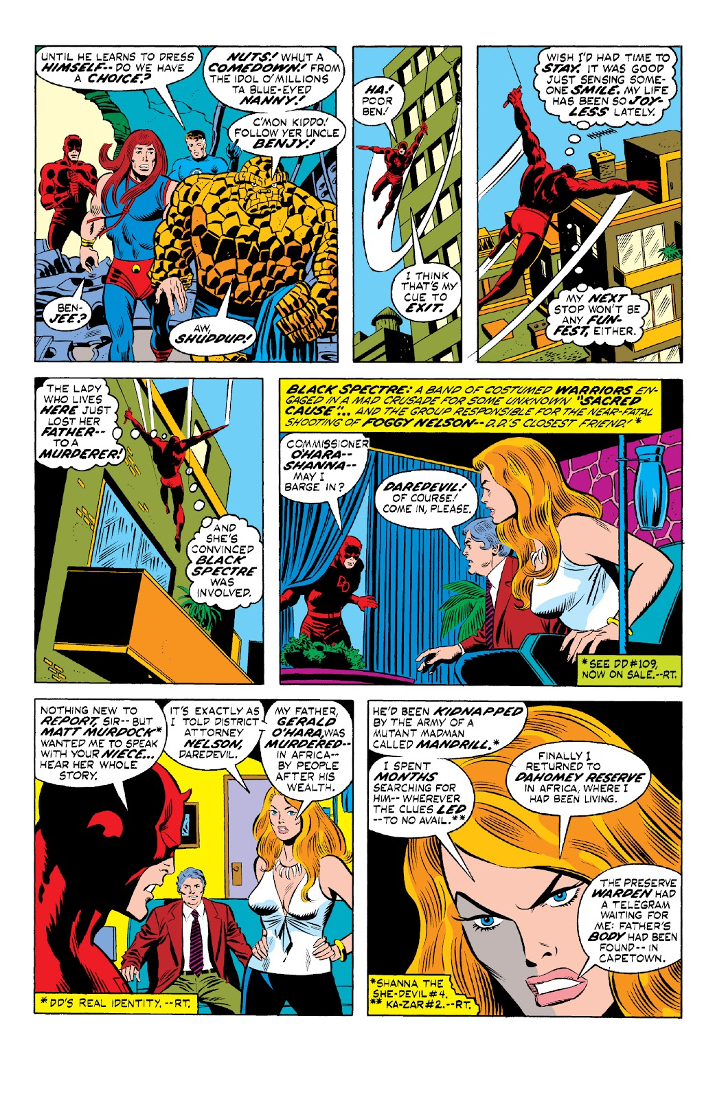 Read online Marvel Two-In-One Epic Collection: Cry Monster comic -  Issue # TPB (Part 1) - 93