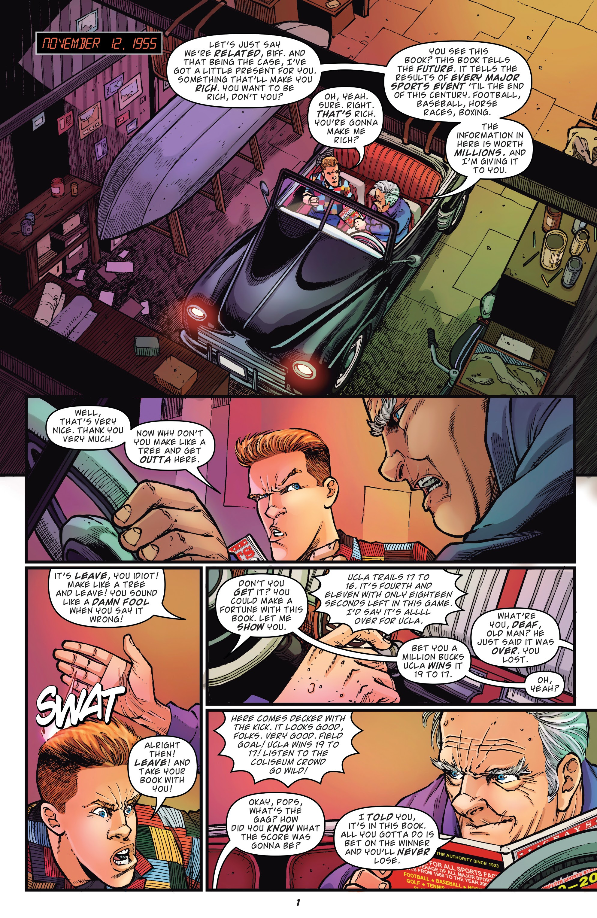 Read online Back to the Future: Biff to the Future comic -  Issue #1 - 3