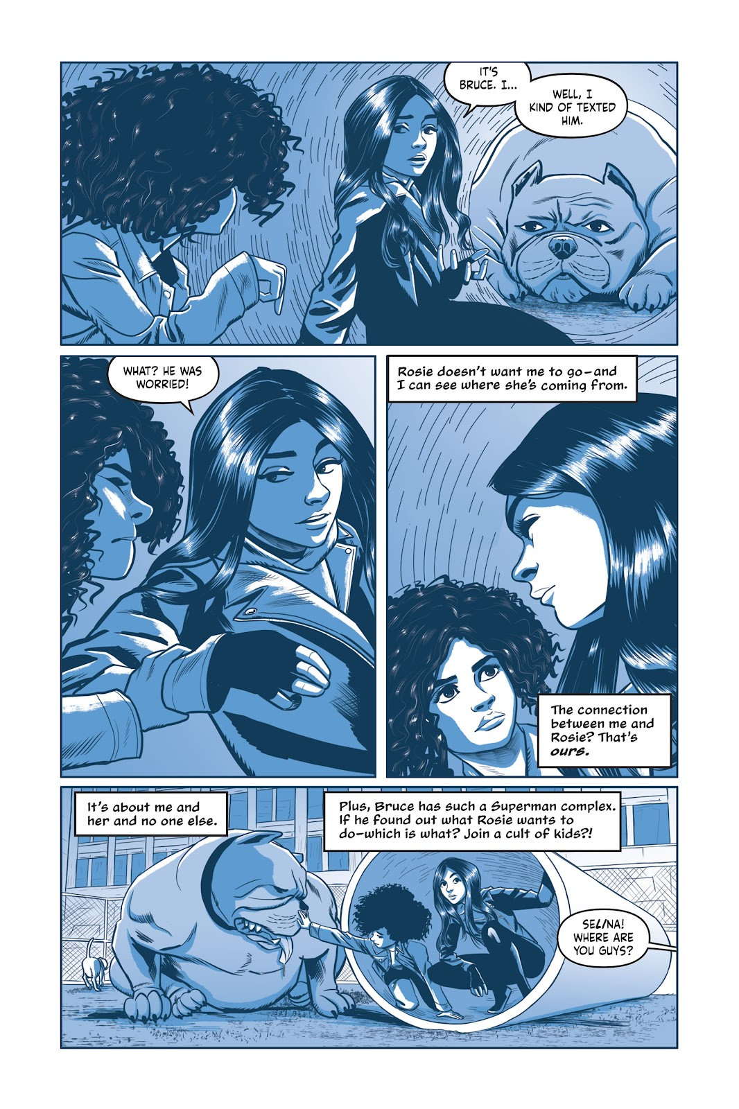 Read online Under the Moon: A Catwoman Tale comic -  Issue # TPB (Part 2) - 83