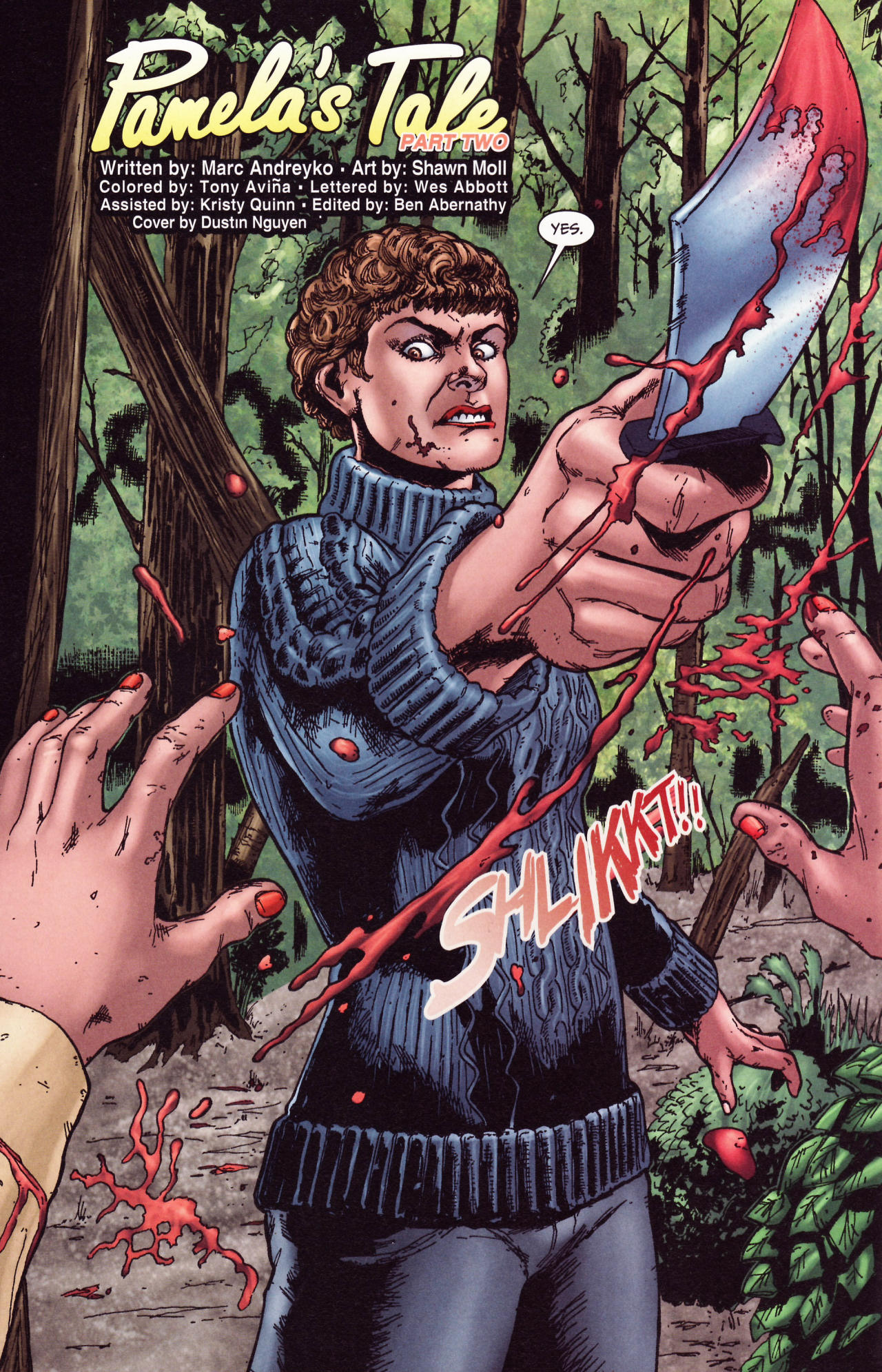 Read online Friday the 13th: Pamela's Tale comic -  Issue #2 - 6