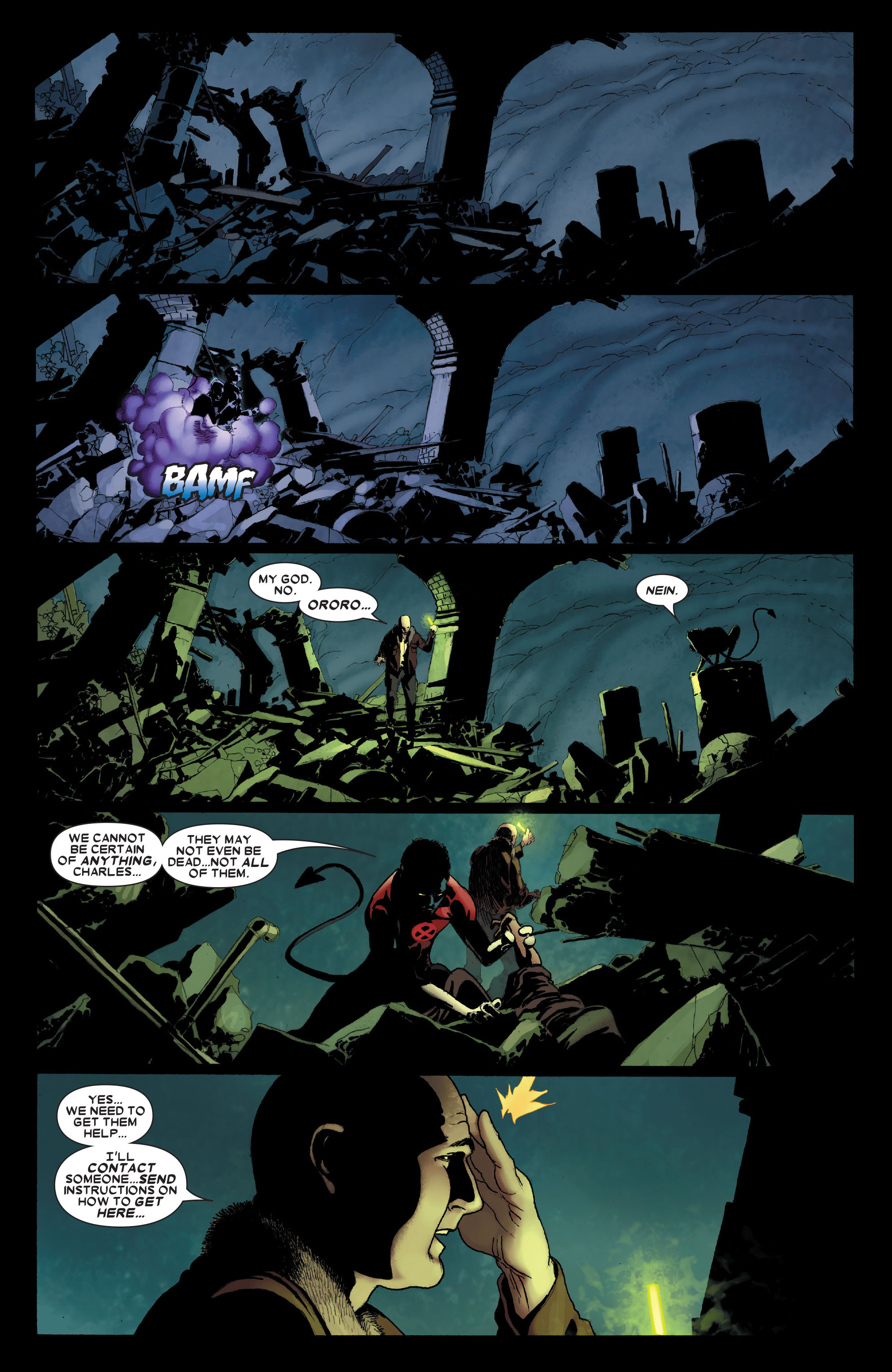 Read online Uncanny X-Men (1963) comic -  Issue #491 - 6